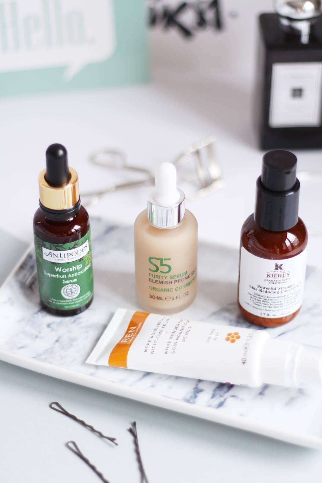 brightening-skin-treatments-antipodes-worship-ren-wake-wonderful-s5-purity-serum-kiehls-line-reducing-concentrate