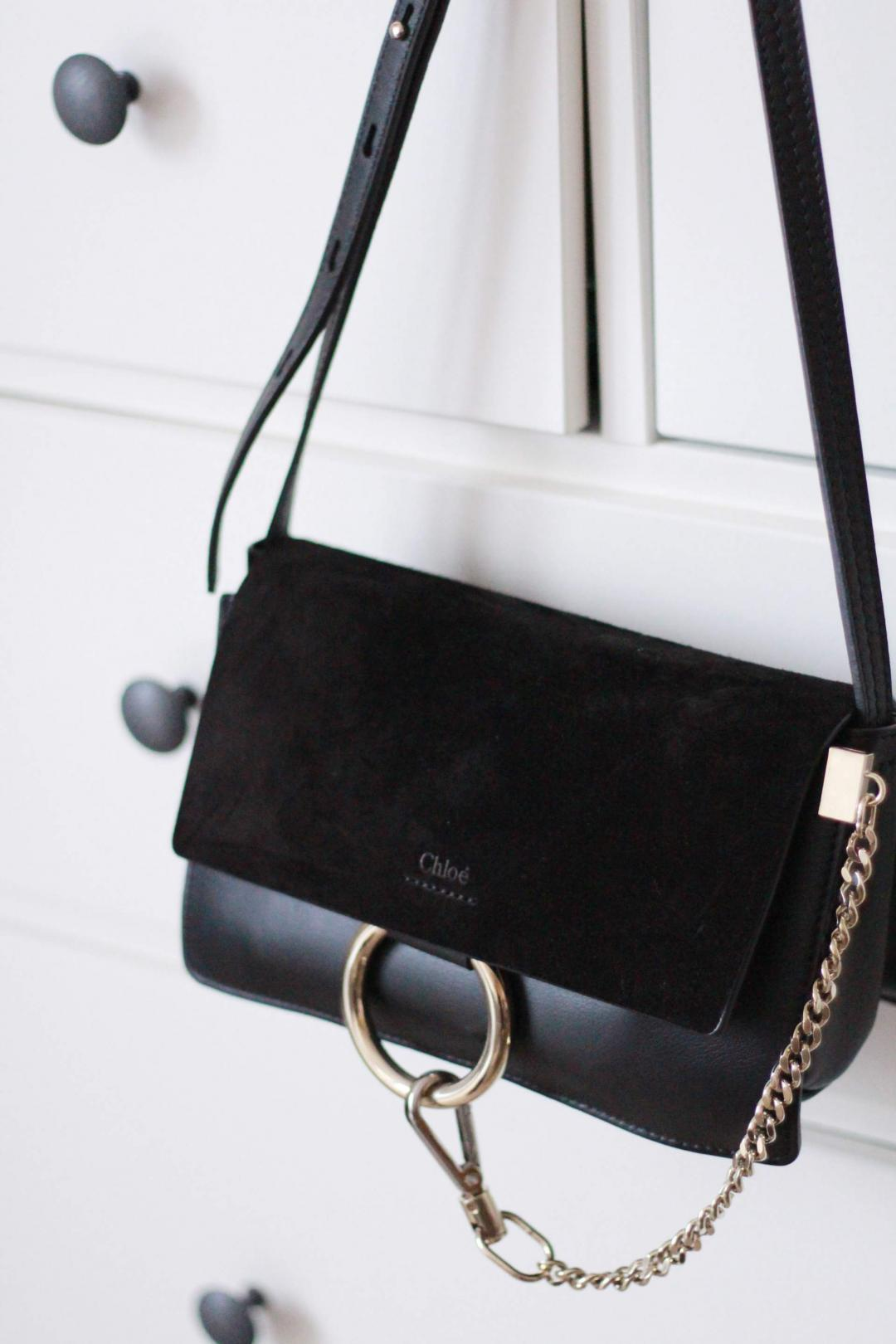 chloe-faye-bag-small-black-leather-suede-mix-gold-harware