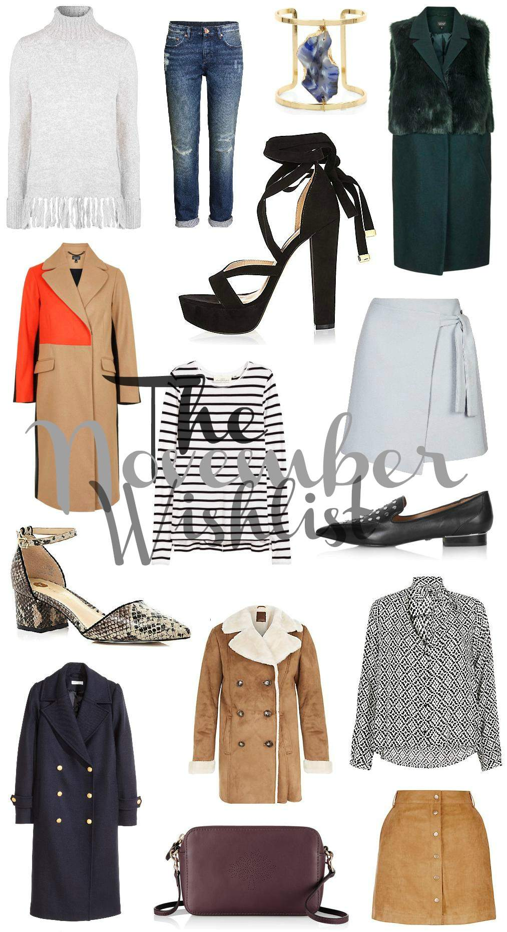 november high street wishlist