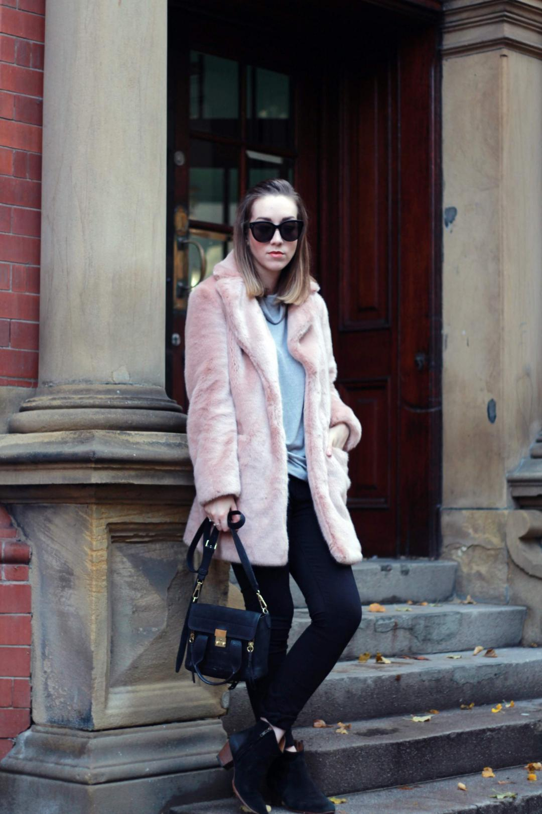 reiss-alba-pink-faux-fur-coat-phillip-lim-pashli-isabel-marant-dicker-boots-street-style-2