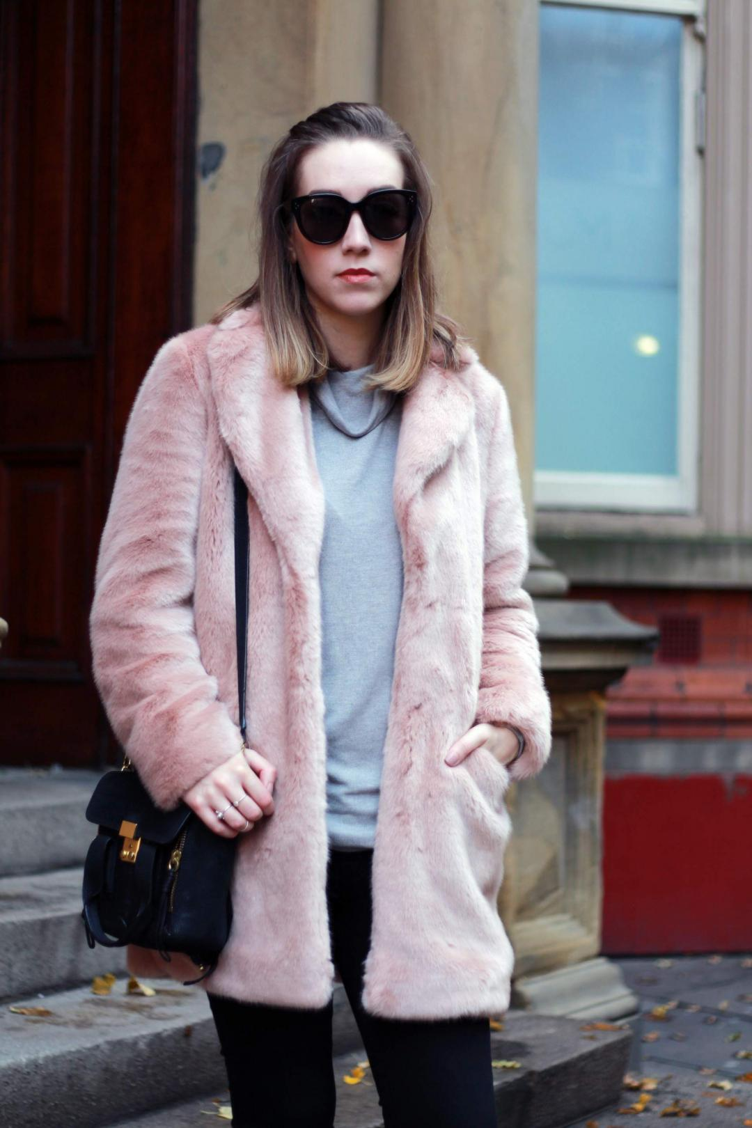 reiss-alba-pink-faux-fur-coat-phillip-lim-pashli-isabel-marant-dicker-boots-street-style-3