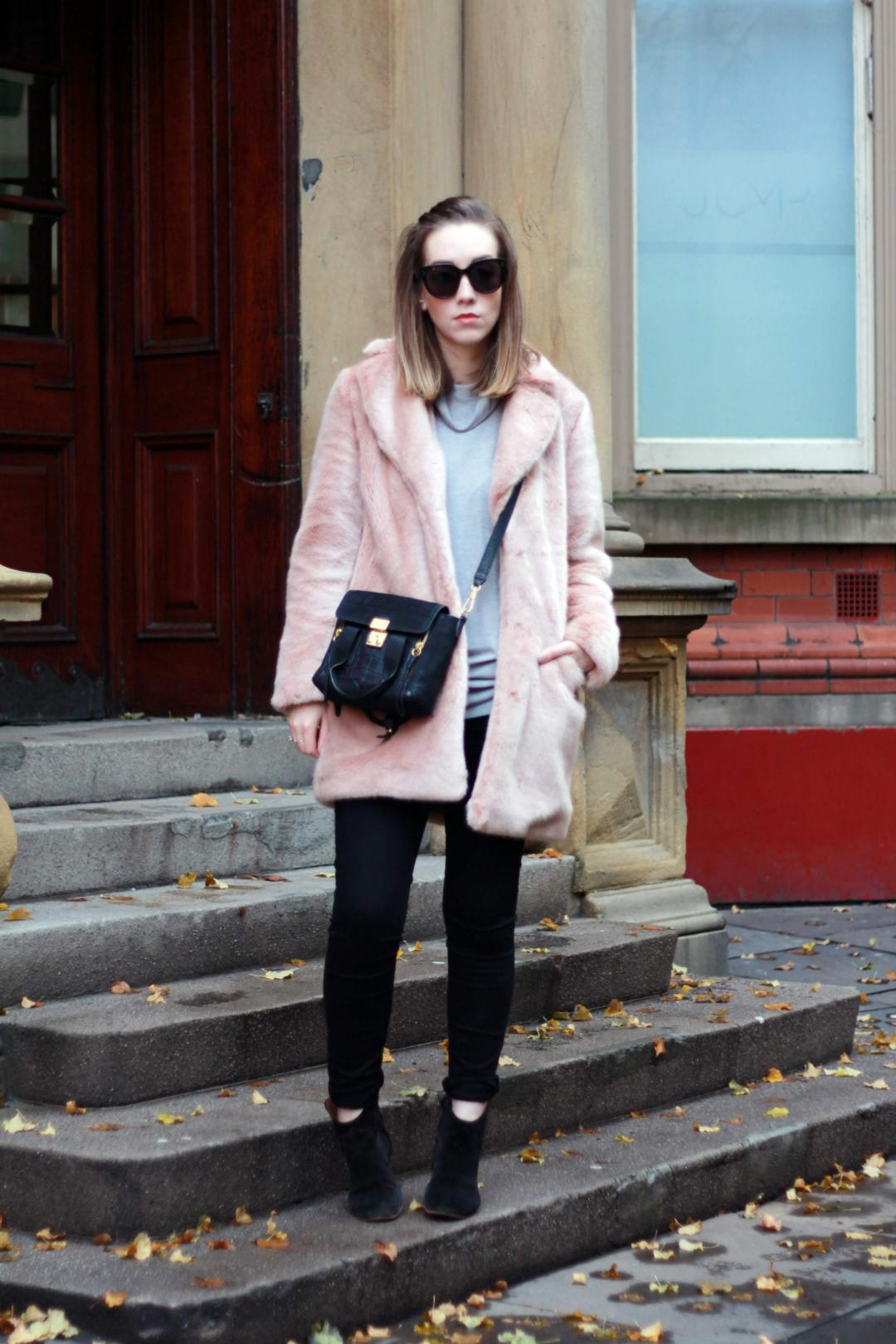 reiss-alba-pink-faux-fur-coat-phillip-lim-pashli-isabel-marant-dicker-boots-street-style