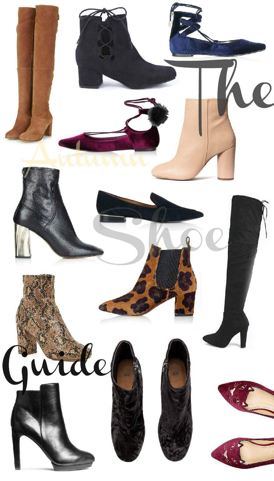 shoe wishlist autumn november 2015 edit