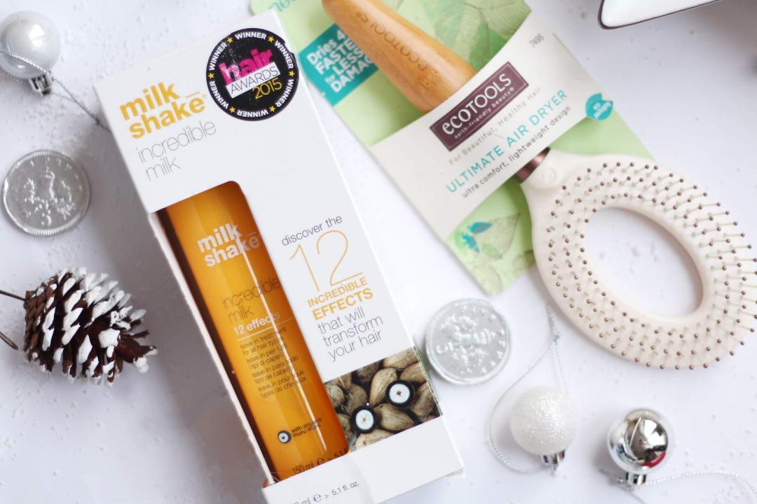 christmas-gift-guide-haircare-milkshake-incredible-milk-ecotools-ultimate-air-dryer