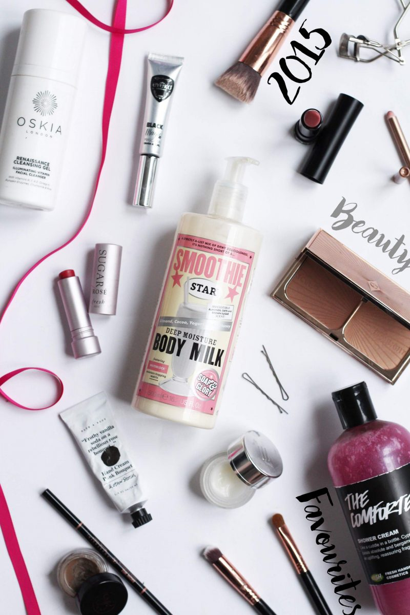 Beauty Favourites of 2015