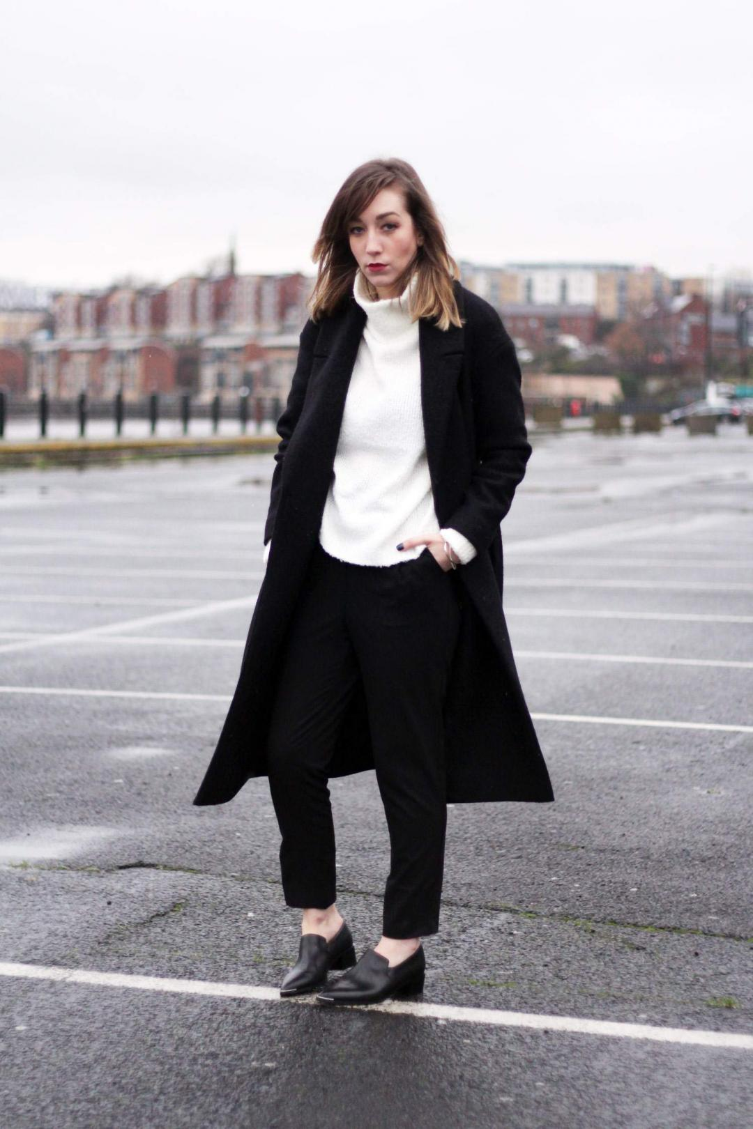 minimal-style-cos-belted-coat-asos-trousers-acne-jaycee-loafers