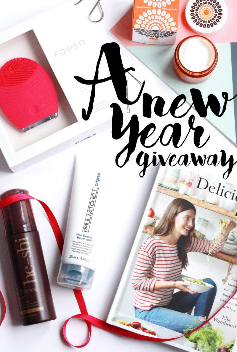 A New Year Fresh Start Giveaway