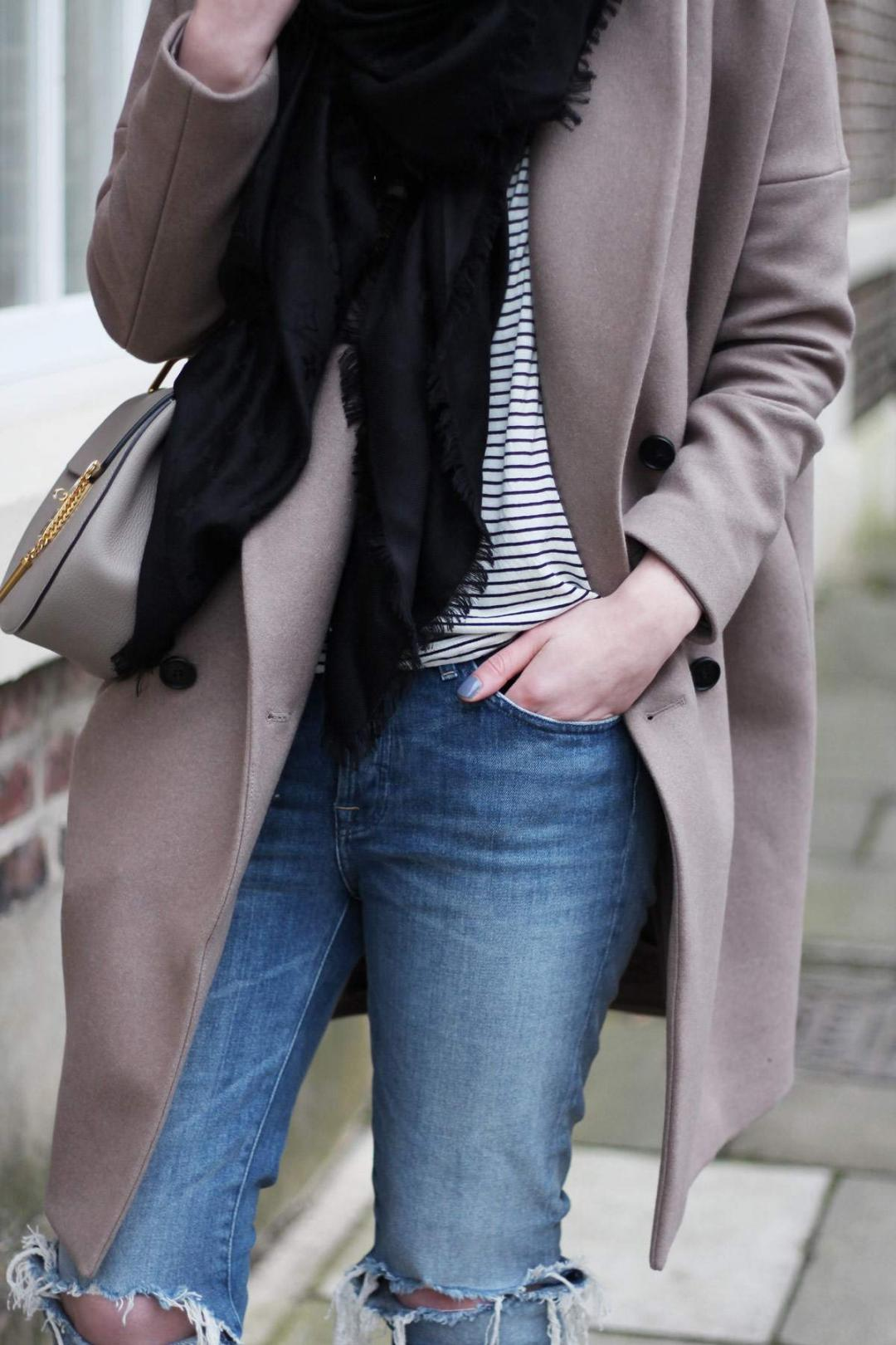all-saints-ember-nesi-coat-chloe-drew-grey-ripped-jeans-louis-vuitton-black-scarf-10