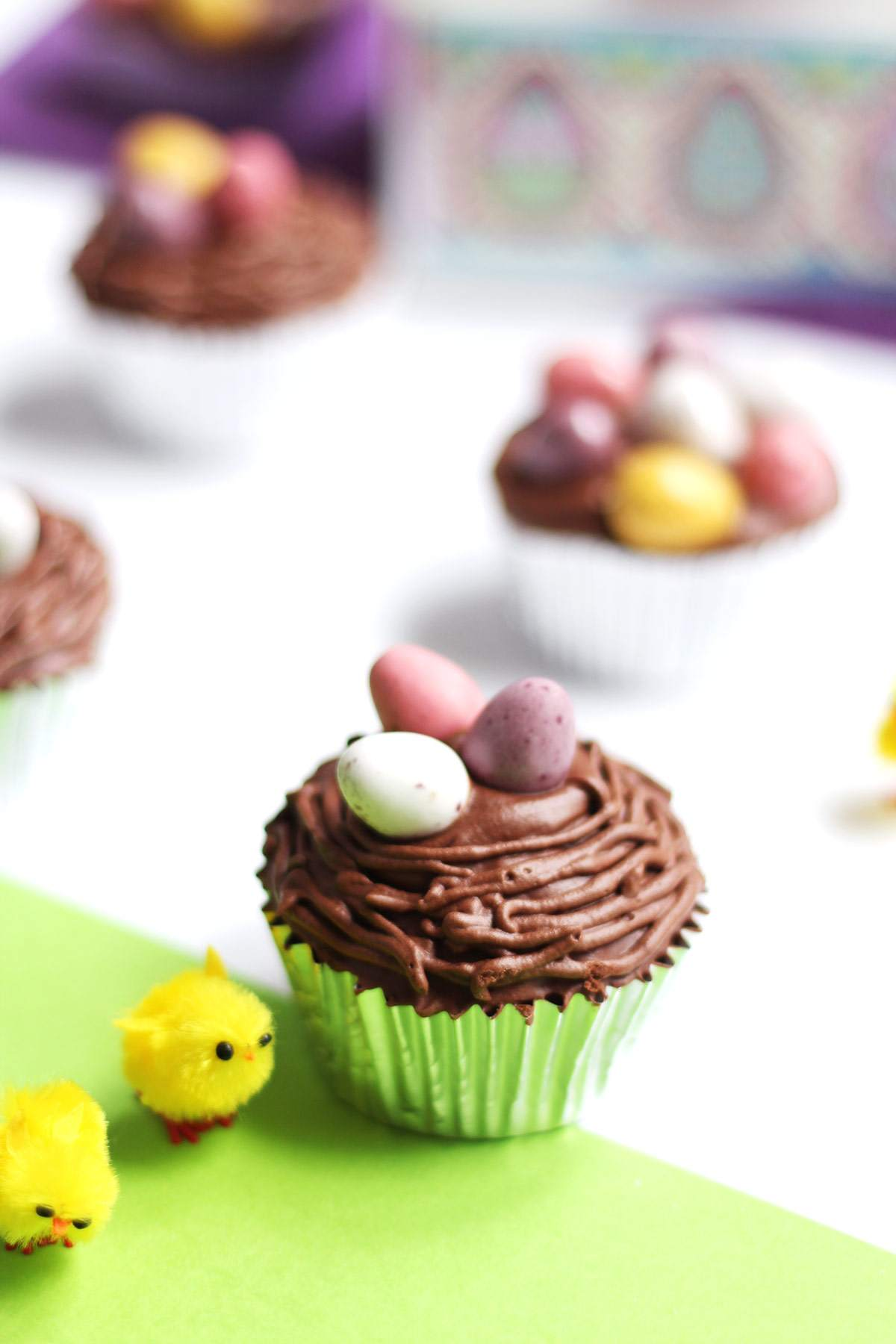easter-chocolate-cupcakes-mini-eggs-recipe-nest-biscuiteers-decorated-egg-biscuits-review