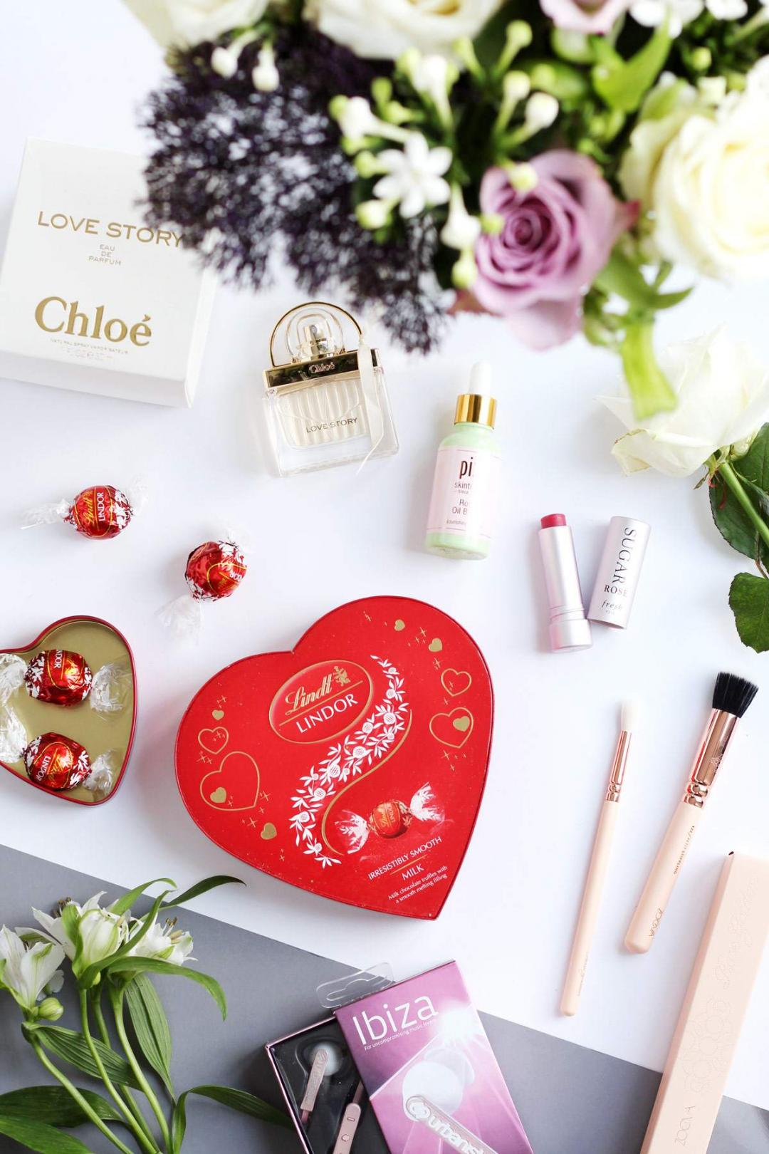 mothers-day-gift-guide-appleyard-london-flowers-lindt-chloe-love-story-pixi-rose-oil