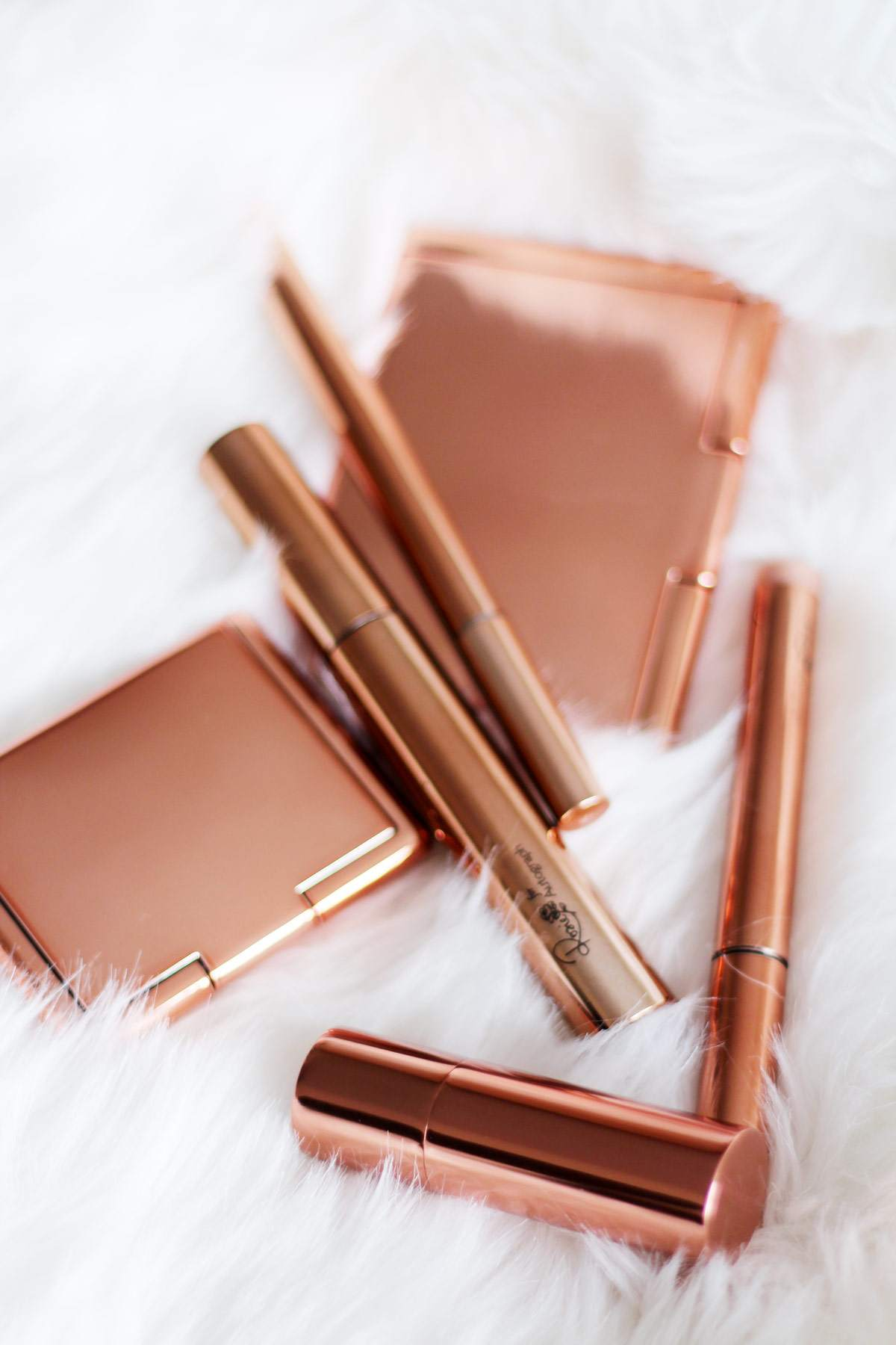rosie-hungtington-whitley-RHW-for-autograph-marks-and-spencers-makeup-range-rose-gold