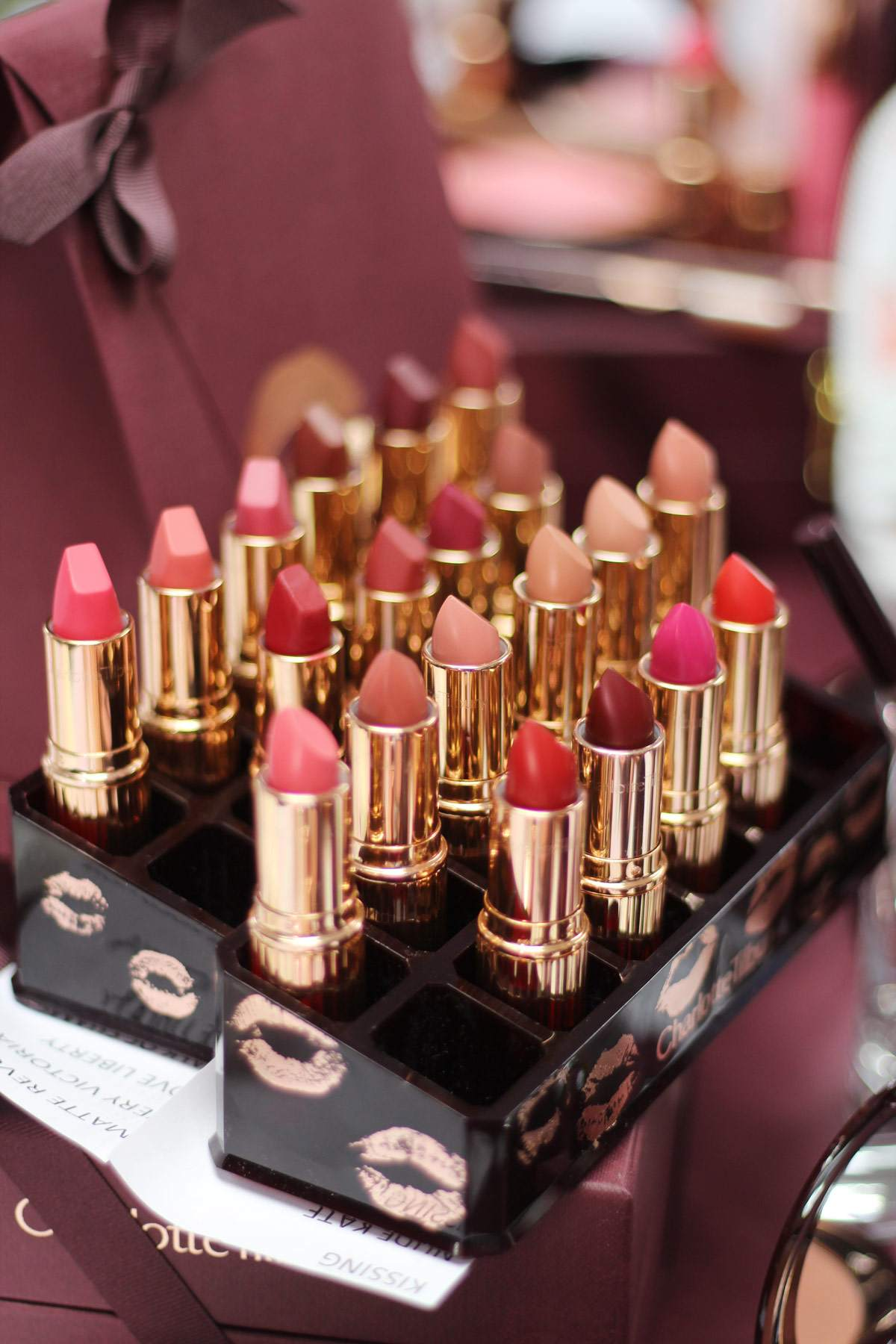 charlotte-tilbury-fenwick-newcastle-event-makeup-kissing-matte-revolution-lipsticks