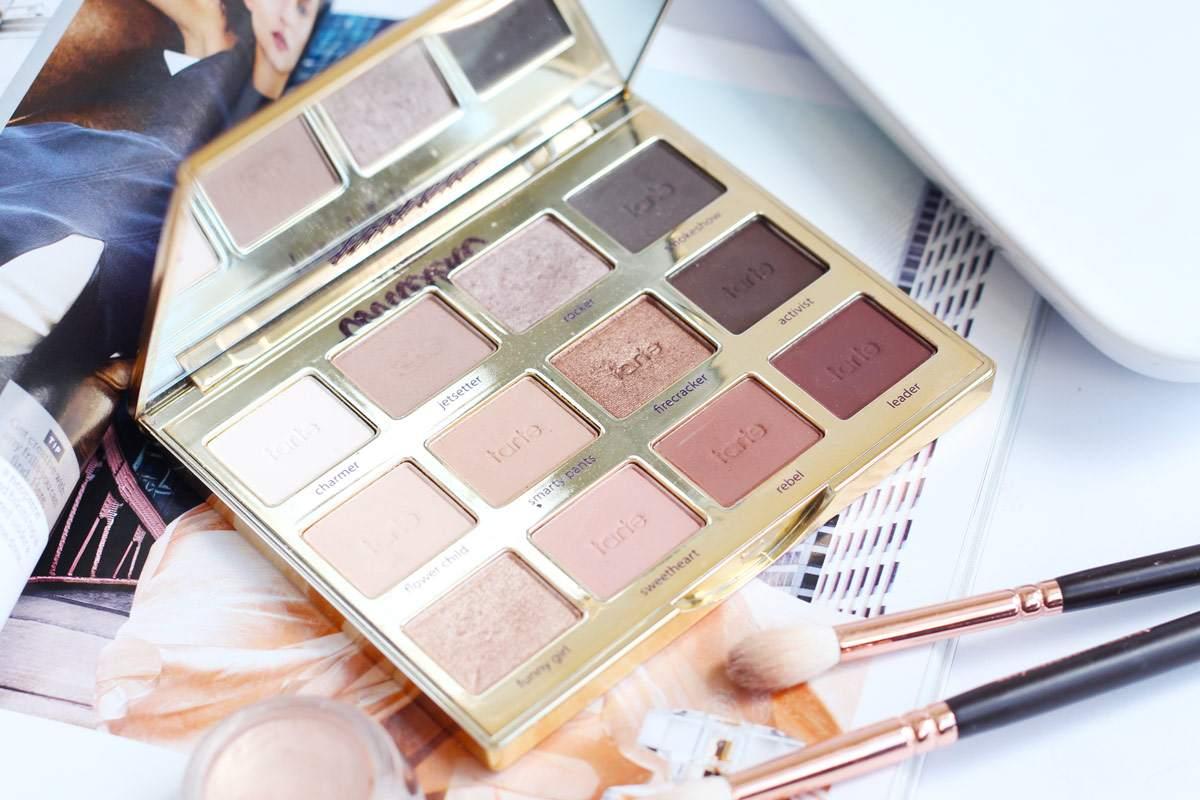 The Tarte Tartelette In Bloom Palette Eyeshadow Review