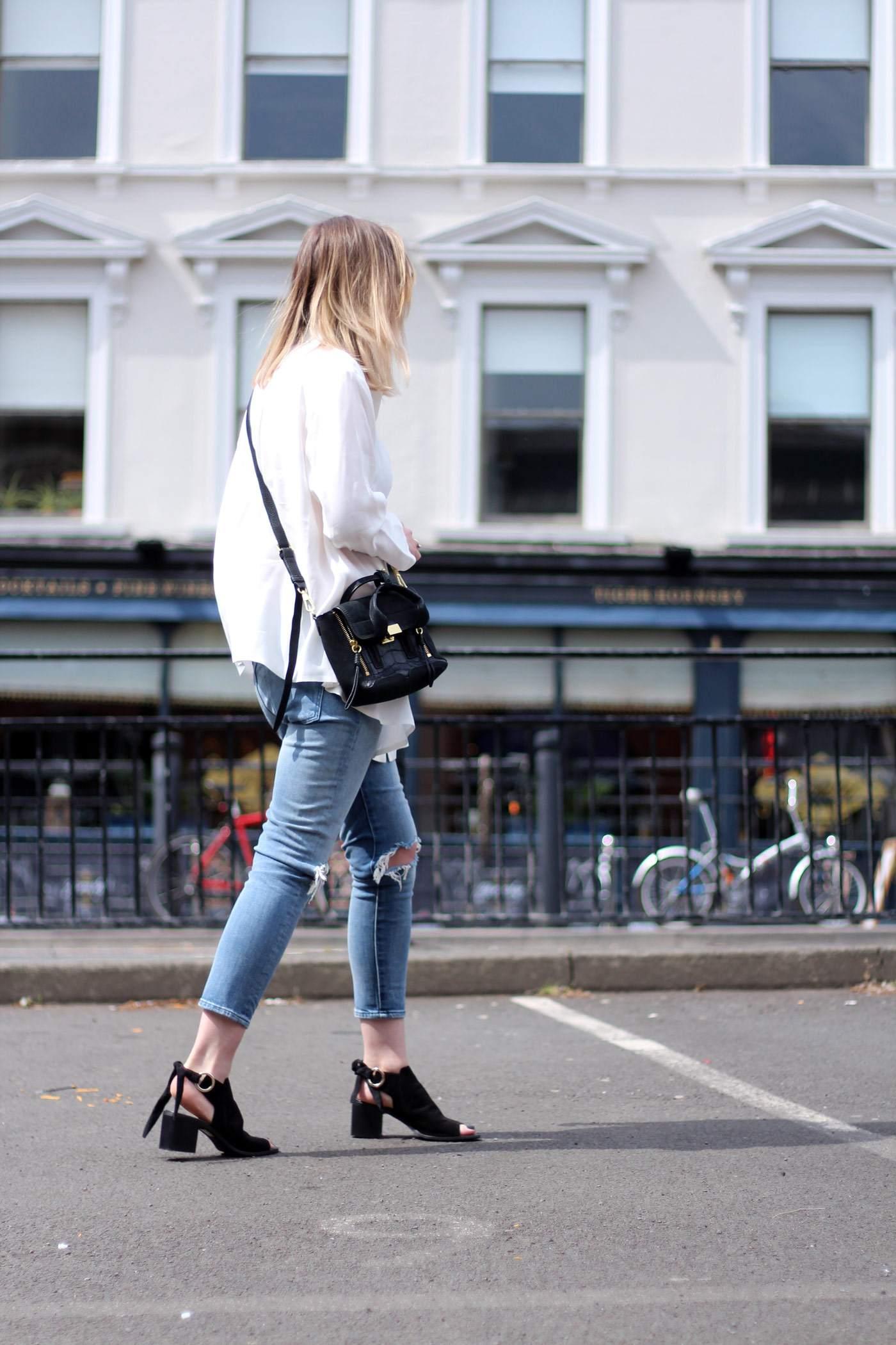 kurt-geiger-suede-peep-toe-boots-7FAM-jeans-COS-white-shirt-phillip-lim-pashli-mini-3