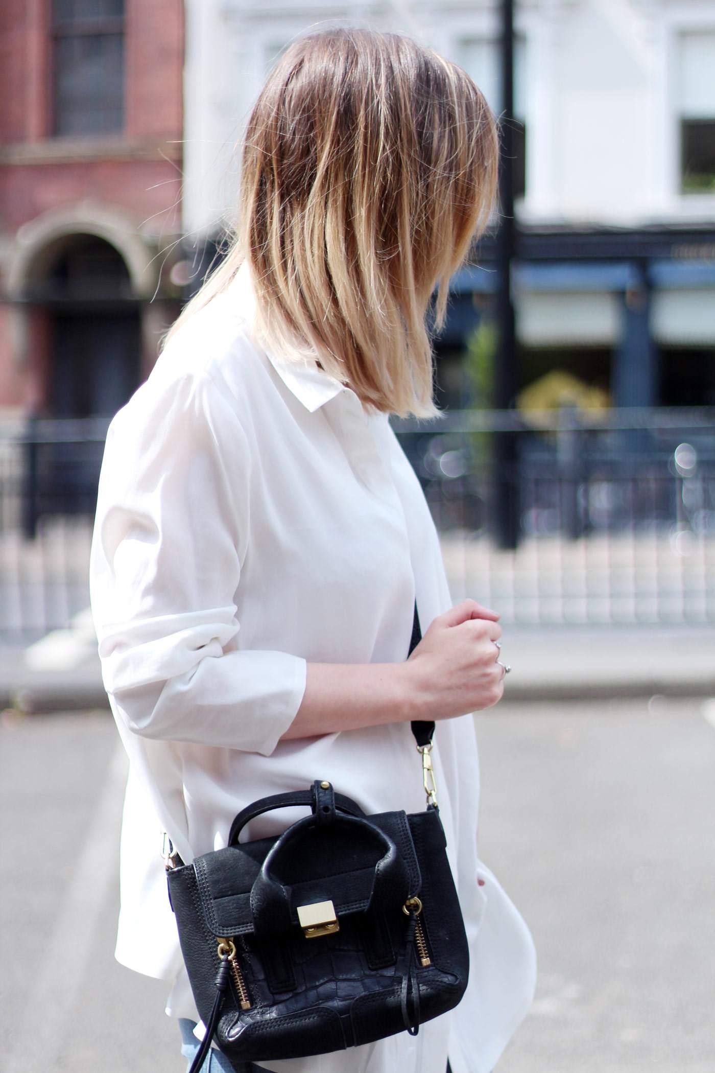 kurt-geiger-suede-peep-toe-boots-7FAM-jeans-COS-white-shirt-phillip-lim-pashli-mini-9