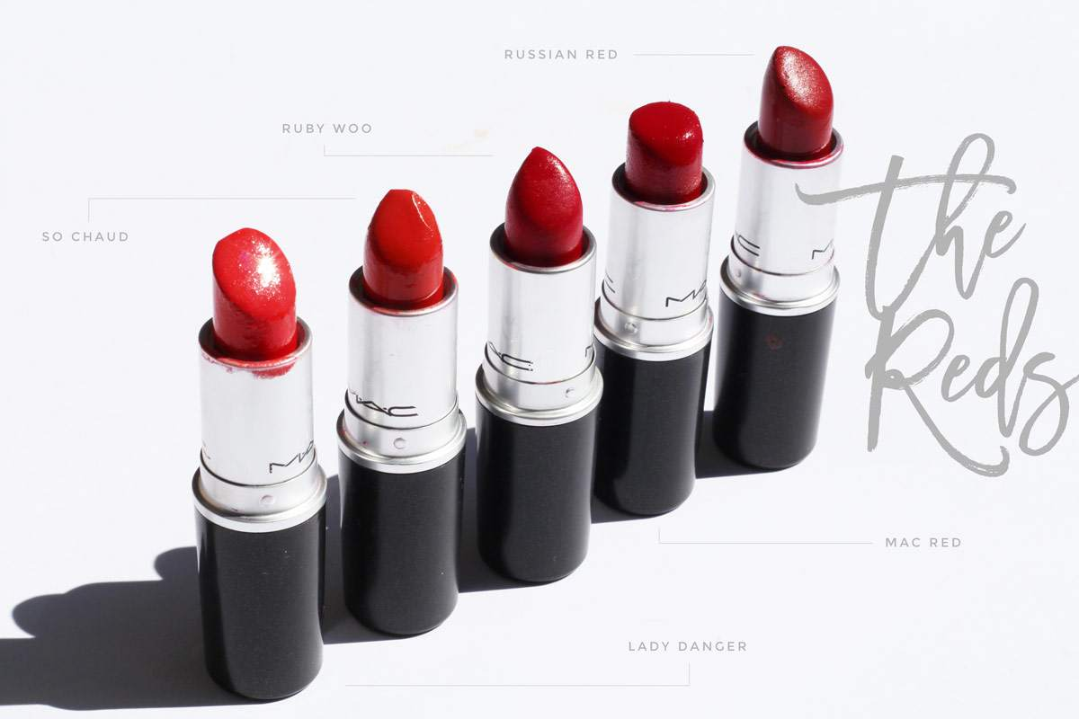 my-mac-lipstick-collection-reds-lady-danger-so-chaud-mac-red-russian-red-ruby-woo