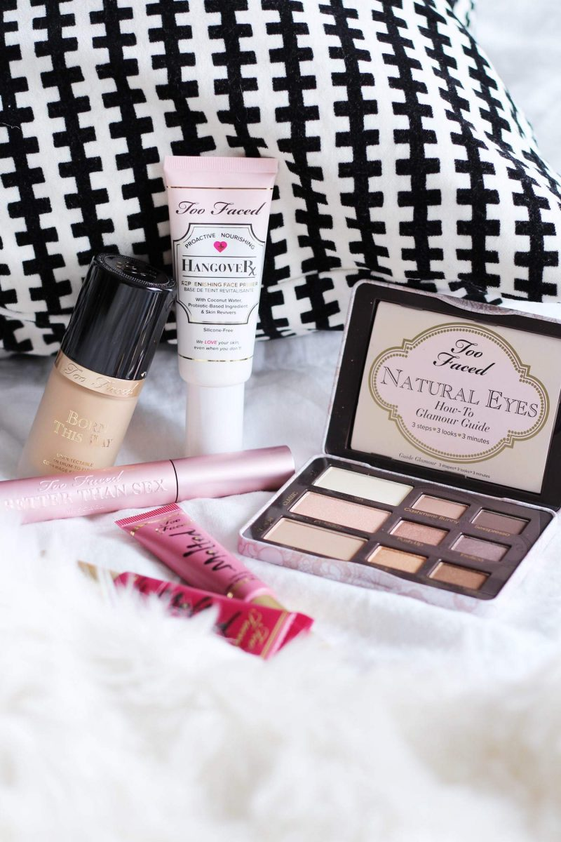 The Too Faced Cosmetics Haul