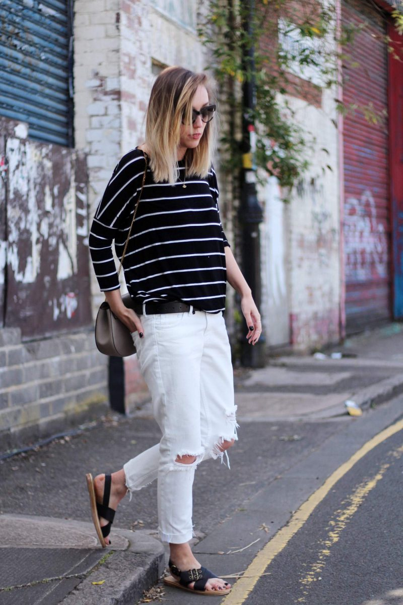The White Boyfriend Jeans