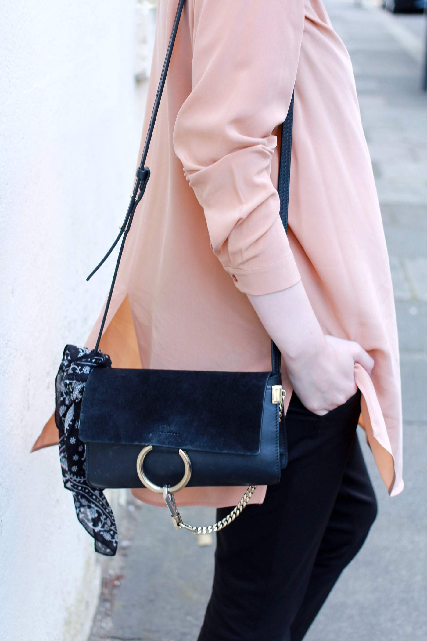 Boden-flared-trousers-COS-peach-shirt-Chloe-faye-bag-black-gucci-loafers-8