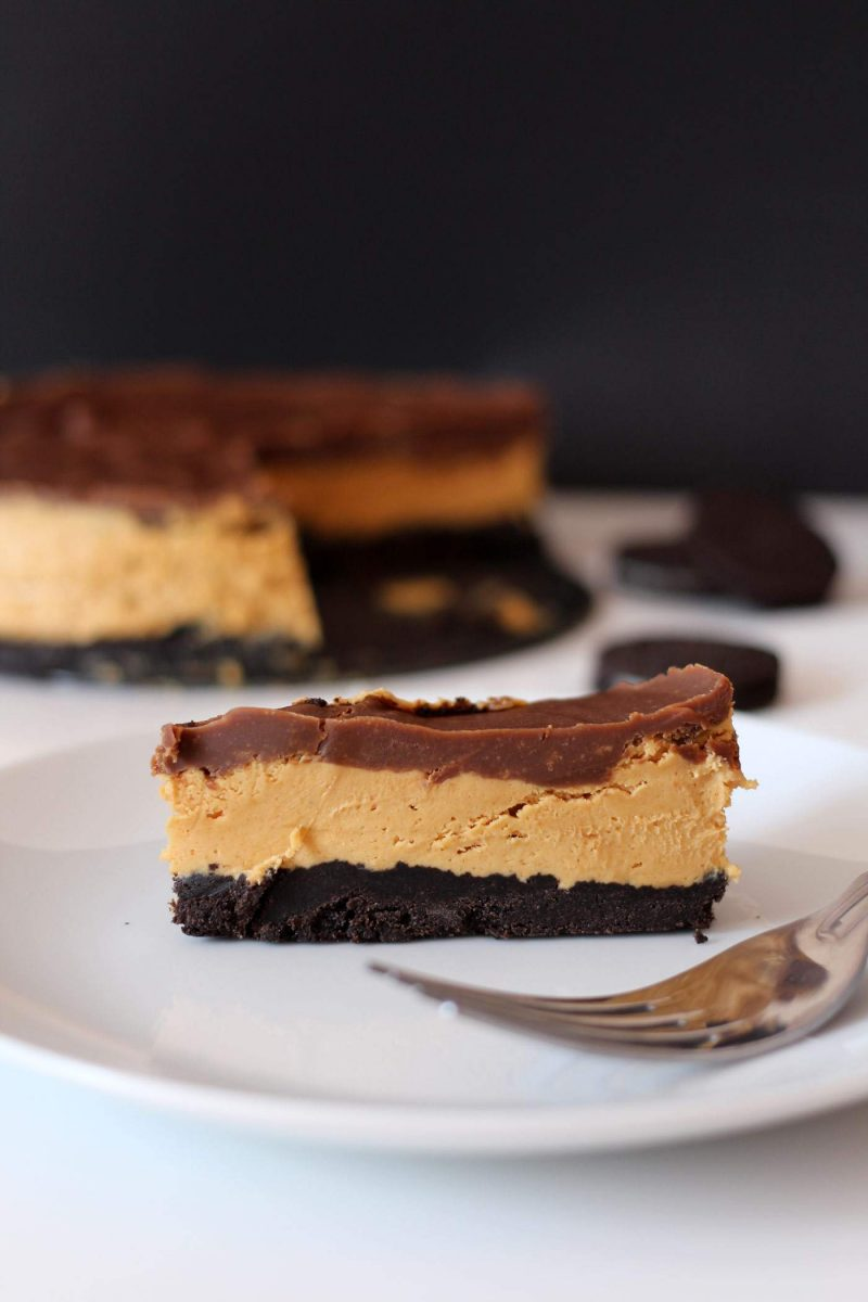 Triple Layer Peanut Butter Chocolate Pie