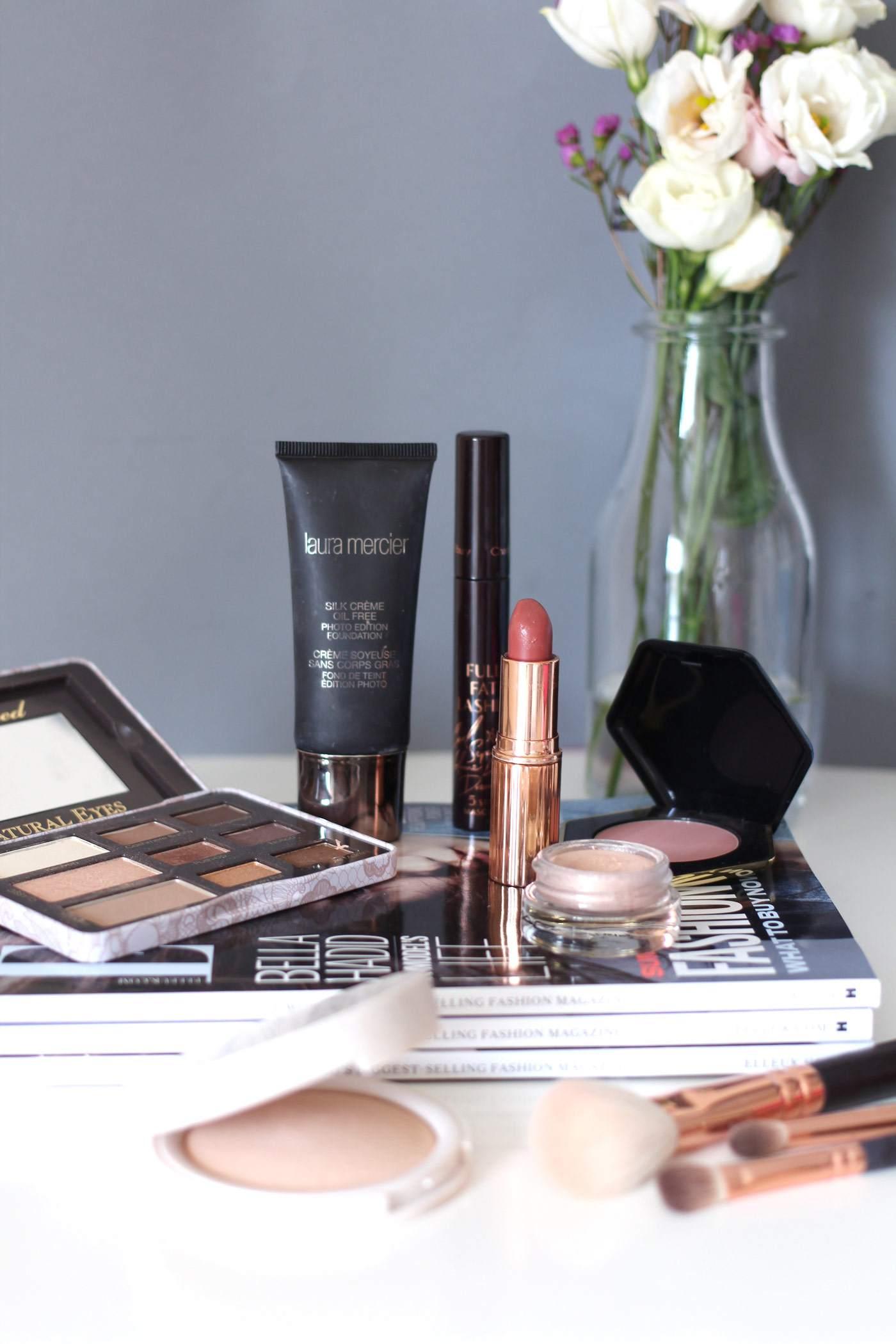 makeup-favourites-charlotte-tilbury-laura-mercier-too-faced