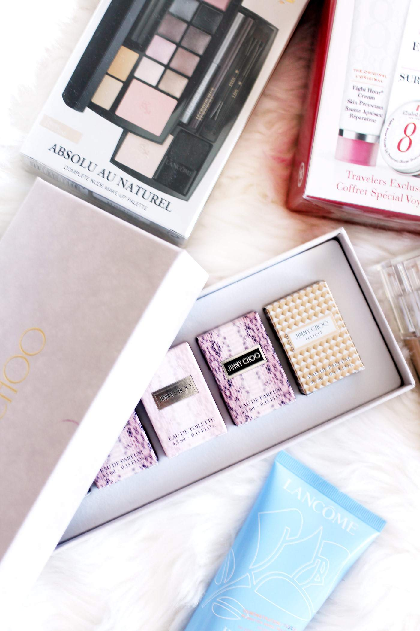 world-durt-free-haul-YSL-lipsticks-exclusives-jimmy-choo-mini-lancome-absolu-au-naturel