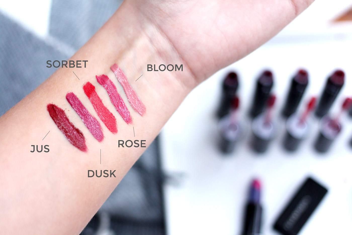illamasqua-lip-lures-review-rose-sorbet-bloom-jus-dusk-2
