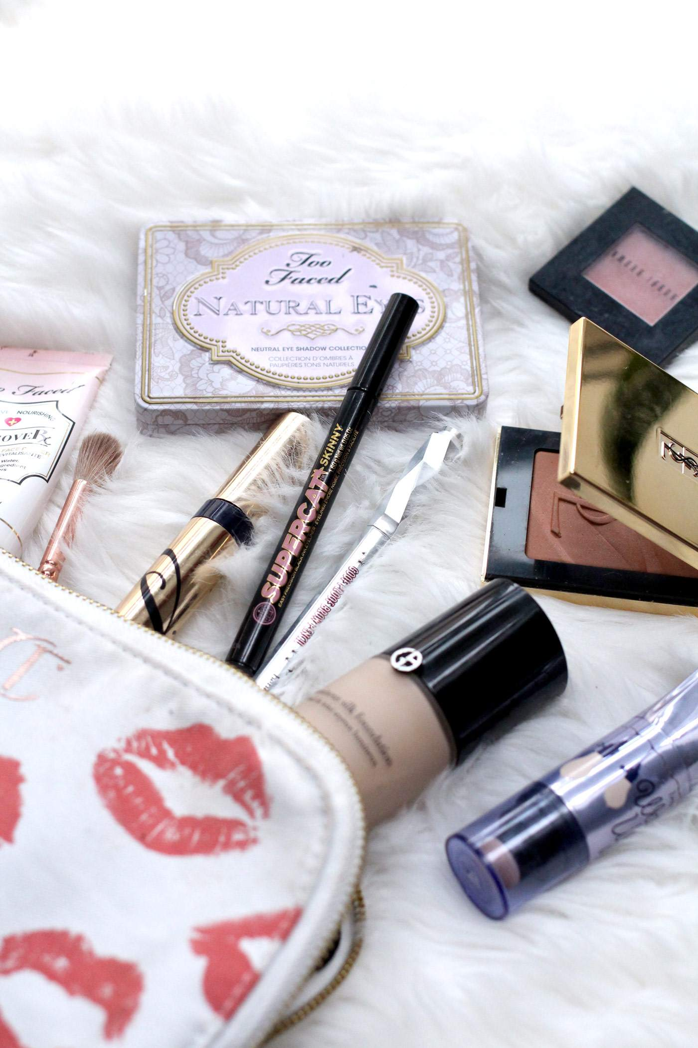 whats-in-my-makup-bag-giorgio-armani-benefit-soap-and-glory-too-faced