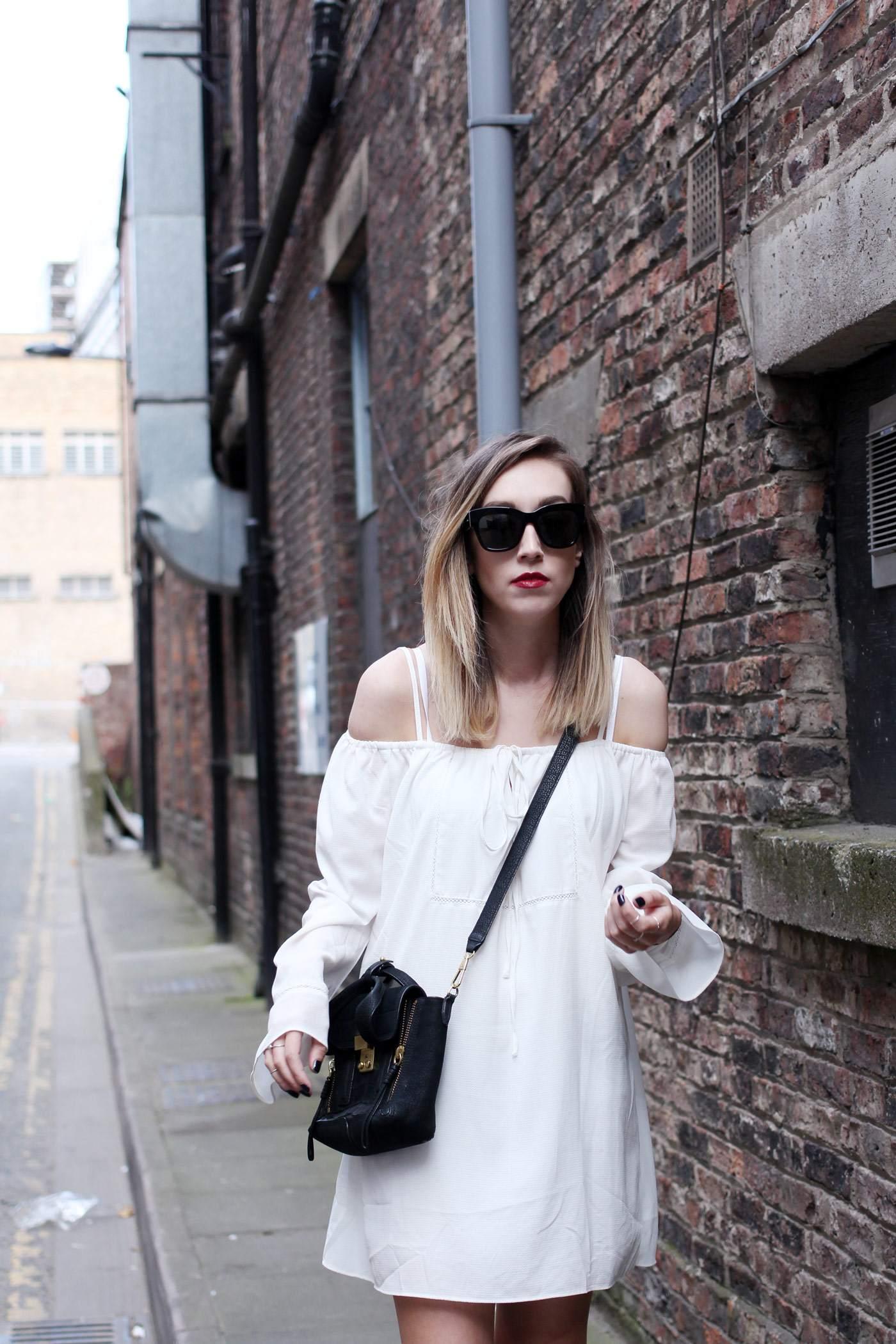 white-off-shoulder-dress-phillip-lim-pashli-mini-chloe-susanna-boots-8