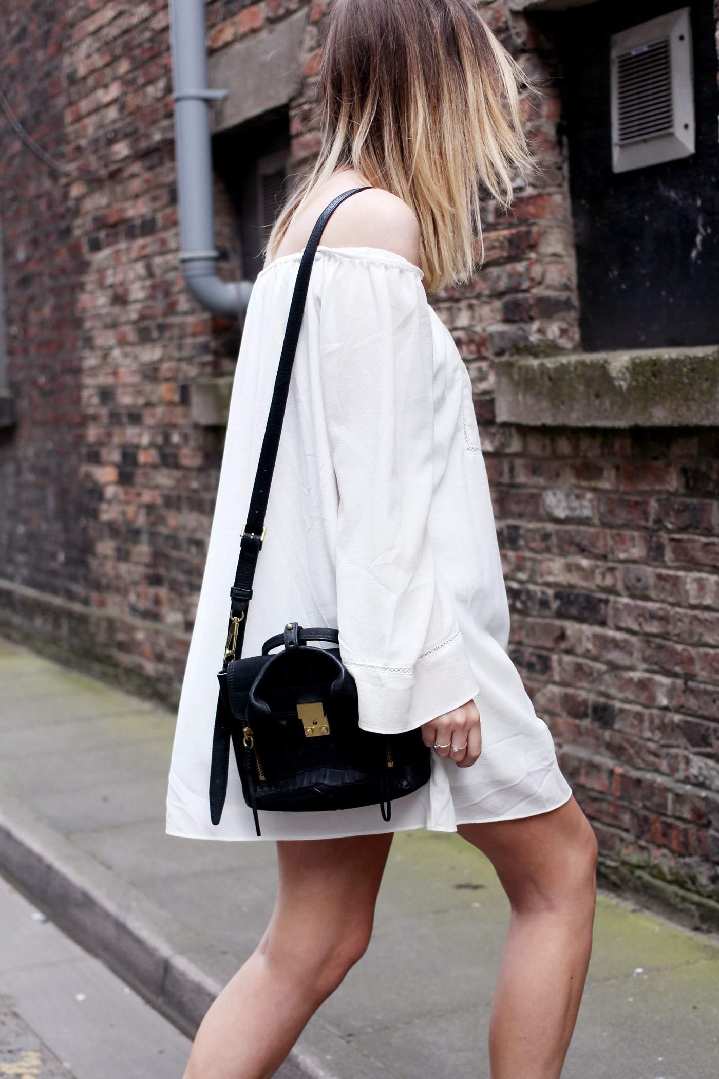 white-off-shoulder-dress-phillip-lim-pashli-mini-chloe-susanna-boots-9