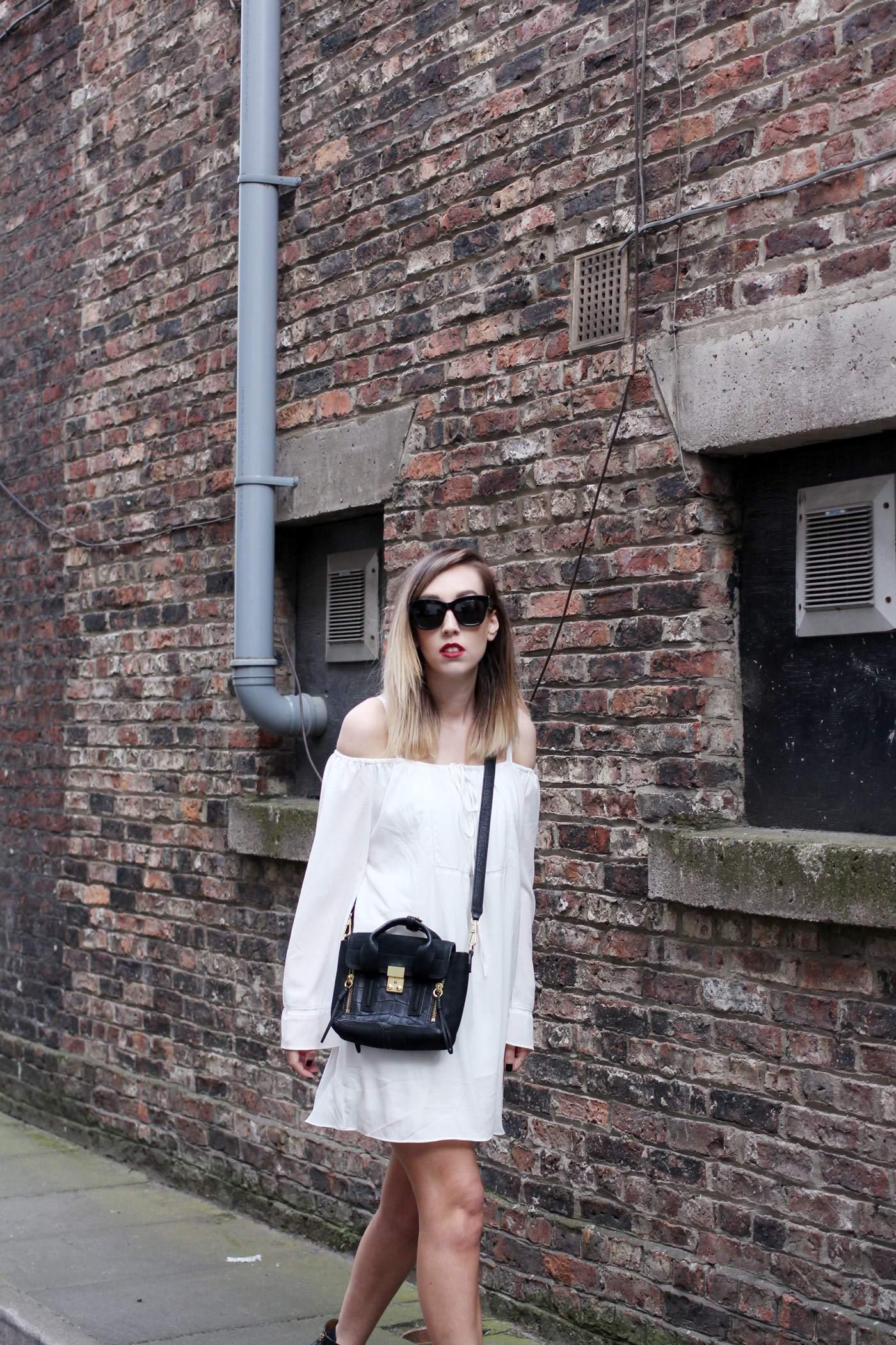 white-off-shoulder-dress-phillip-lim-pashli-mini-chloe-susanna-boots