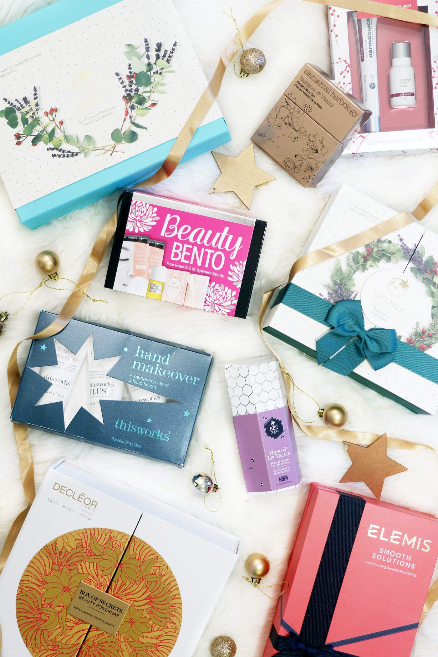 christmas-gift-guide-skincare-liz-earle-decleor-dhc-beauty-bento