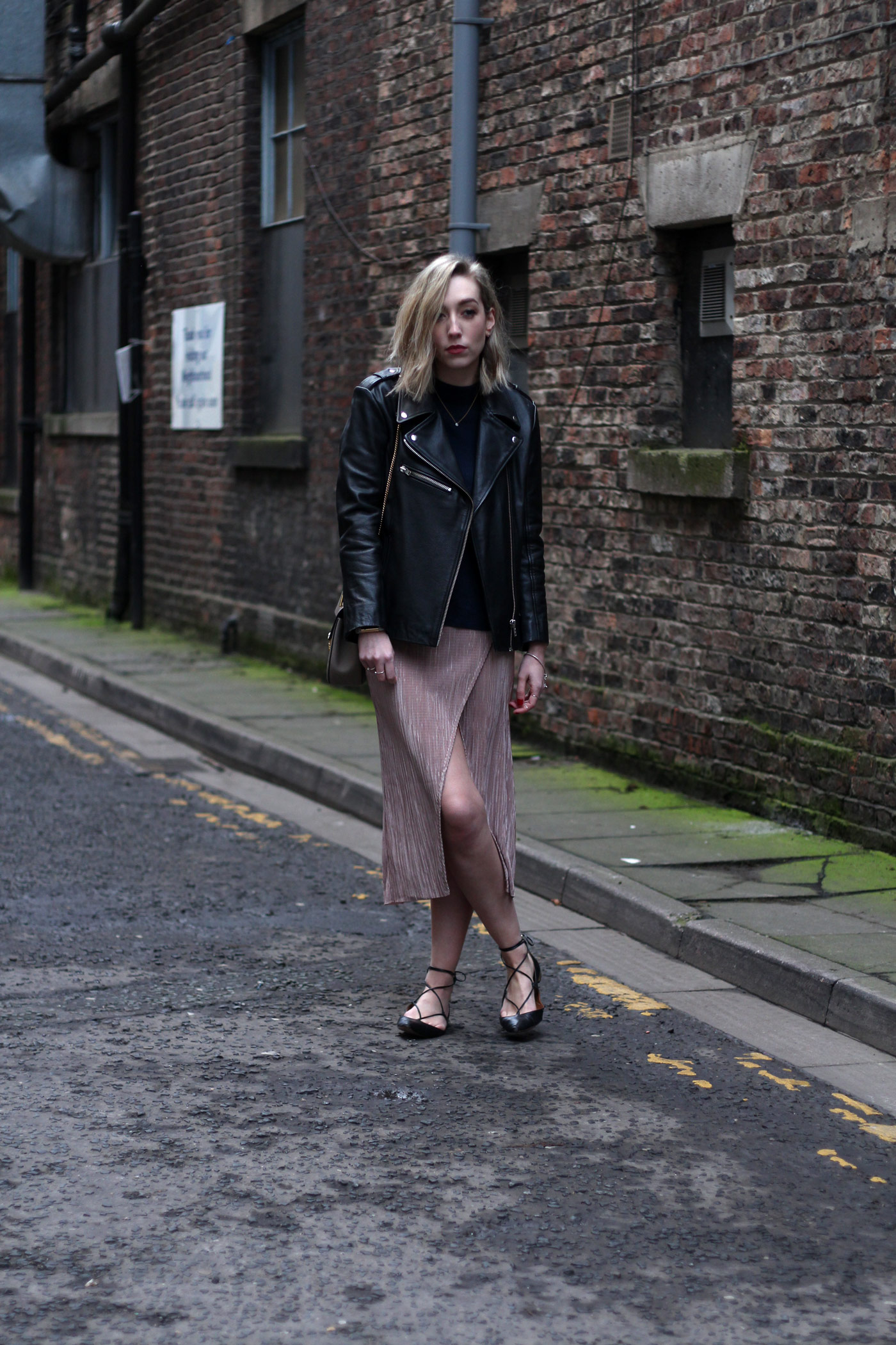 nude-midi-skirt-leather-jacket-chloe-drew-grey
