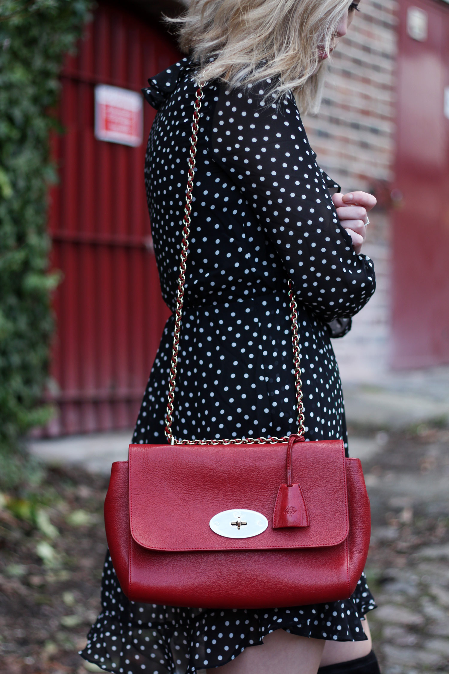 polkadot-ruffle-dress-h&m-mulberry-lily-bag-thigh-high-boots-7