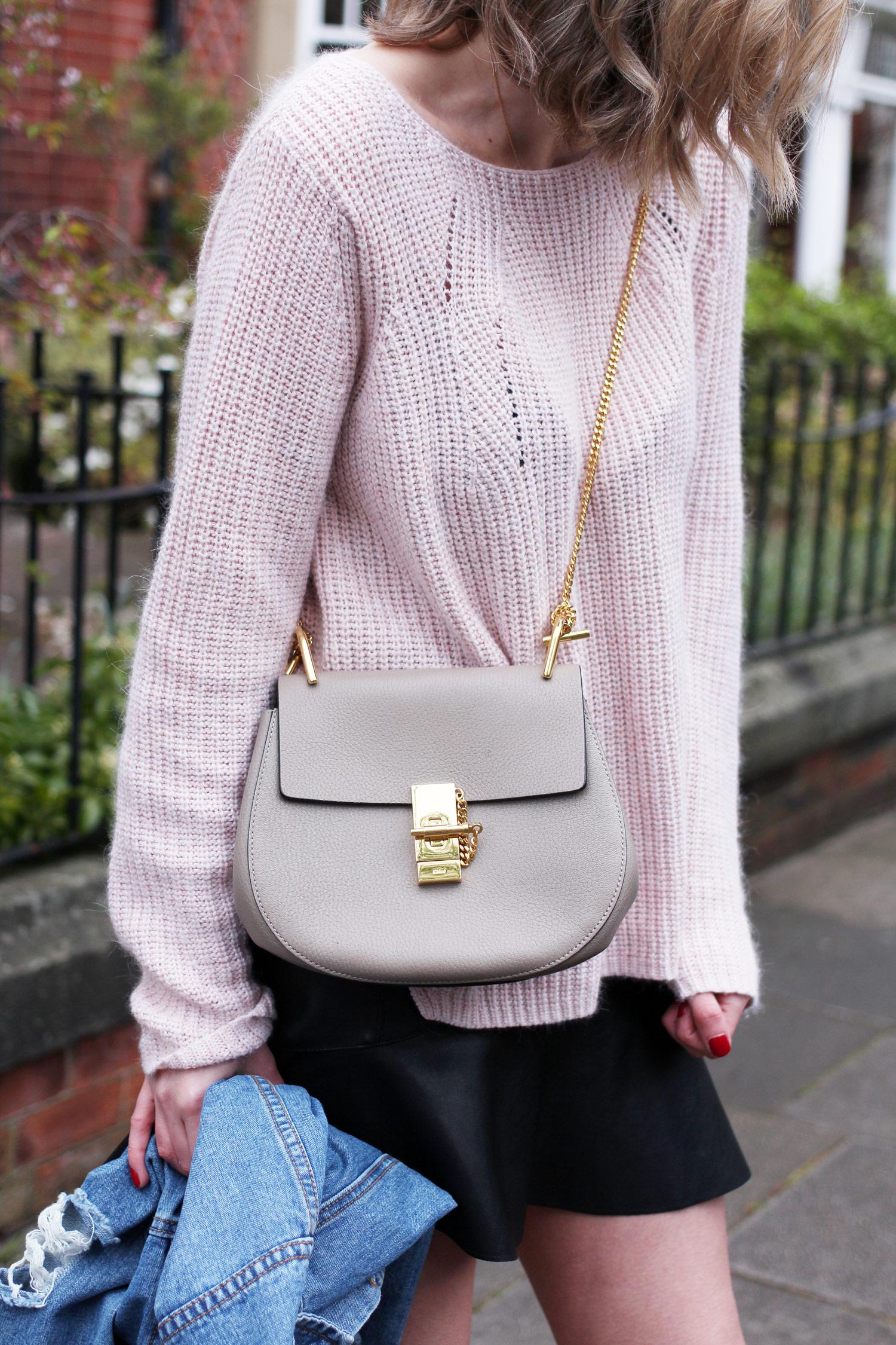 spring-denim-jacket-pink-jumper-leather-skirt-12