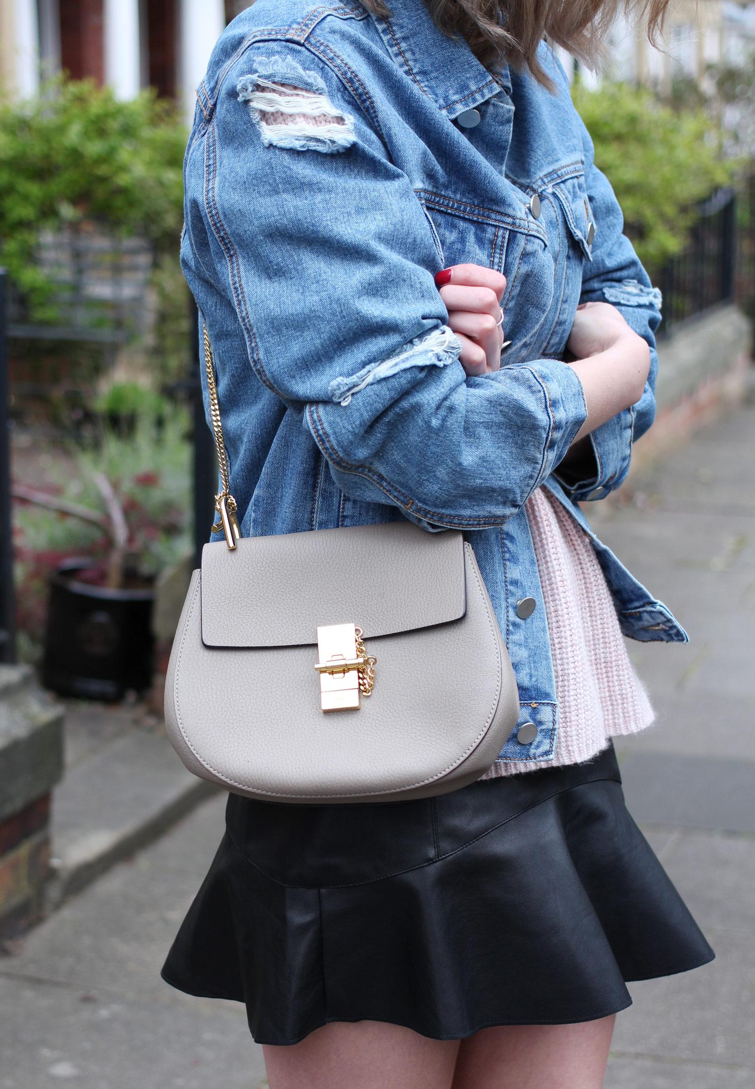 spring-denim-jacket-pink-jumper-leather-skirt-16