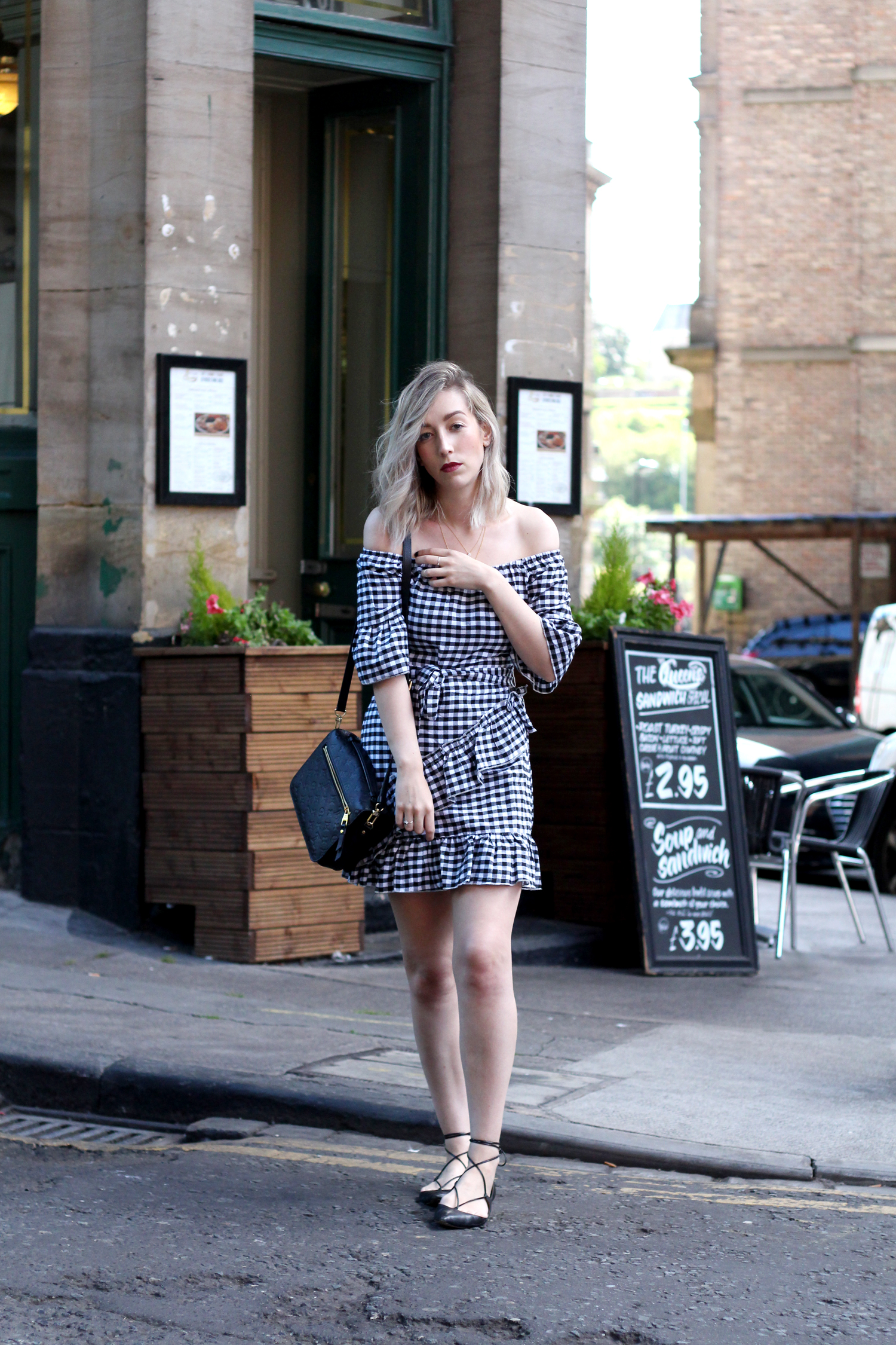 pretty-little-thing-gingham-frill-ruffle-dress