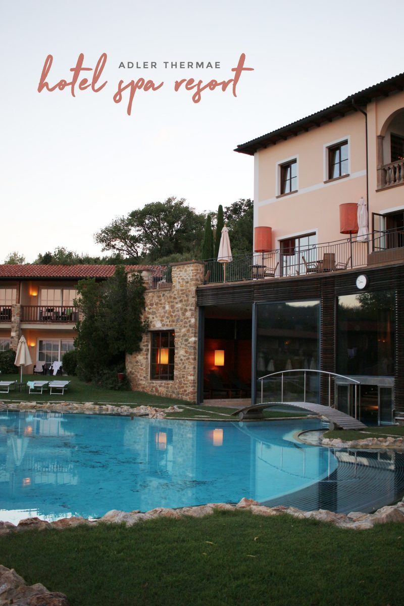 Adler Thermae Tuscany Spa Resort – A Review