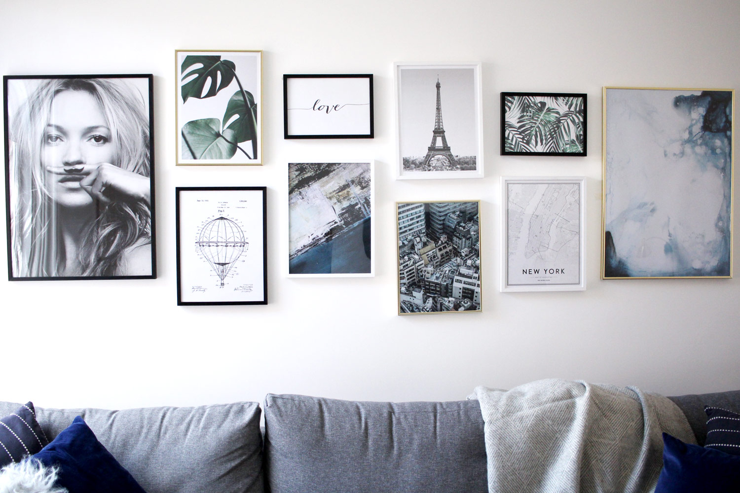 My Gallery Wall With Desenio Including 25 Discount Code