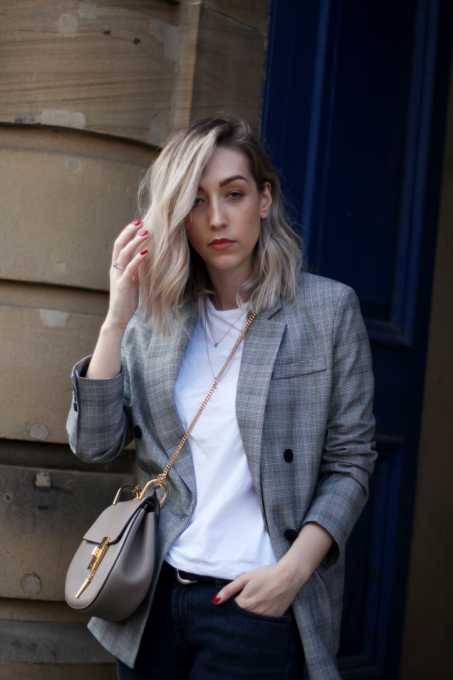 prince-of-wales-check-grey-black-white-blazer-topshop-gucci-sliders-21