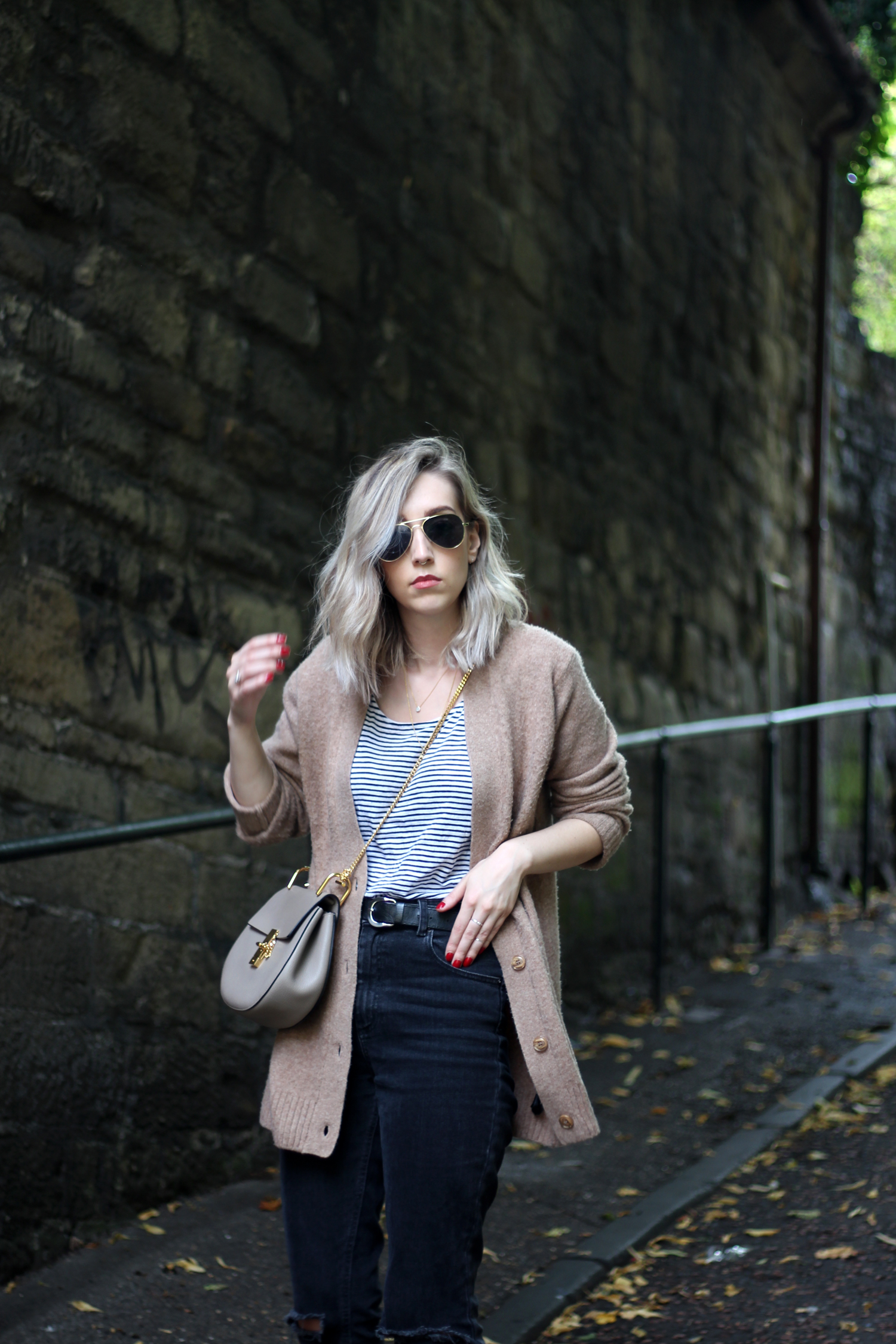sunglasses-camel-cardigan-asos-ripped-boyfriend-jeans