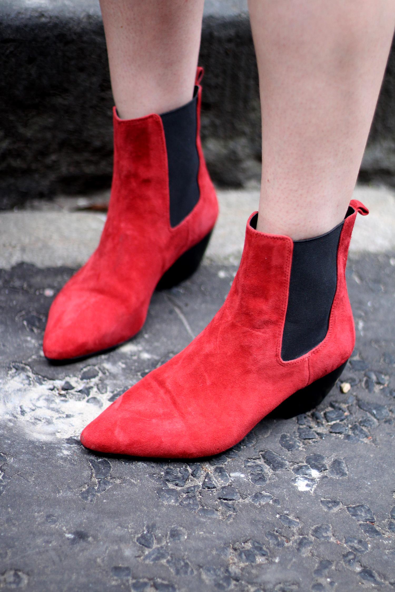 topshop-red-suede-chelsea-boots-grey-jumper-zara-white-blazer-19