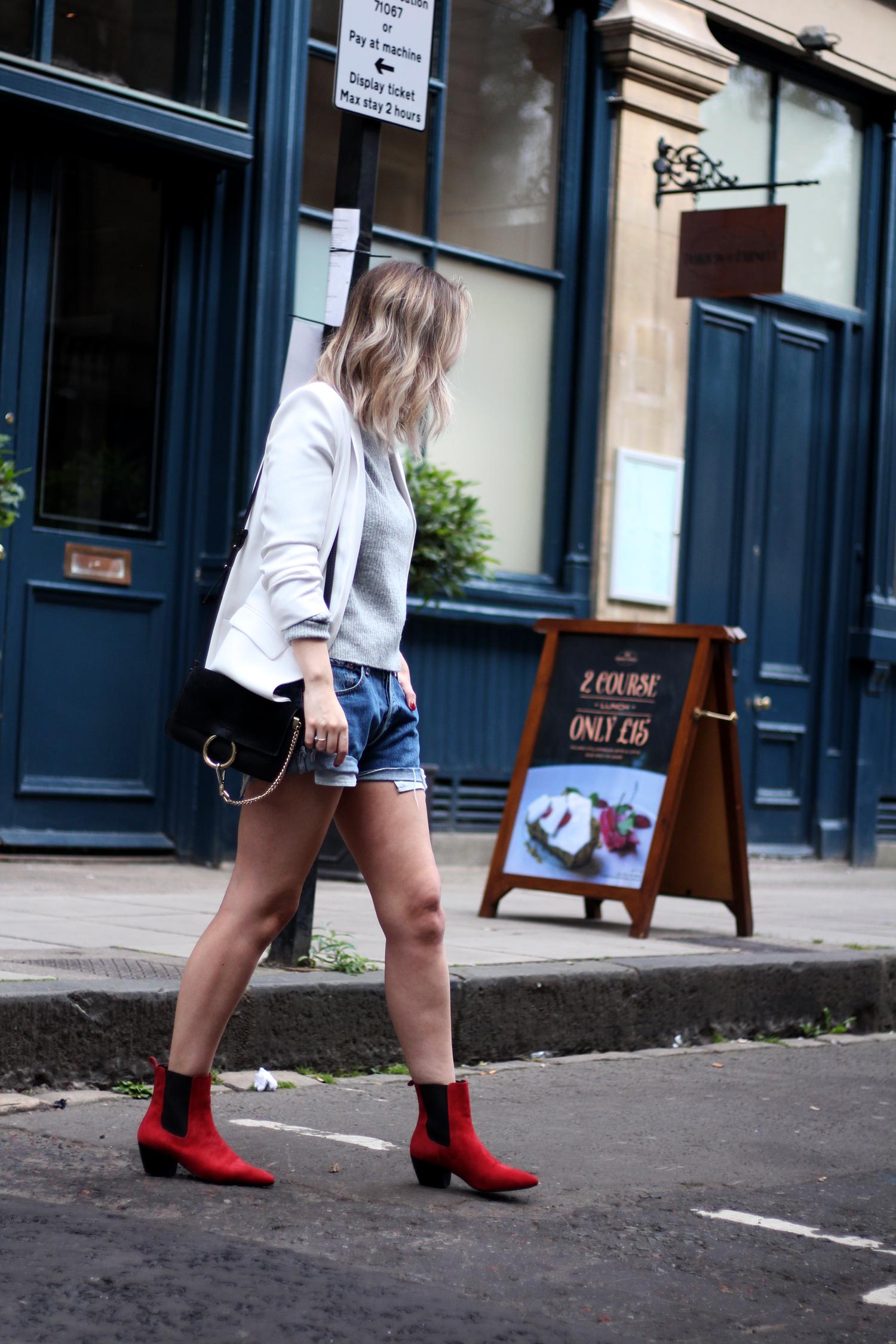 topshop-red-suede-chelsea-boots-grey-jumper-zara-white-blazer-3
