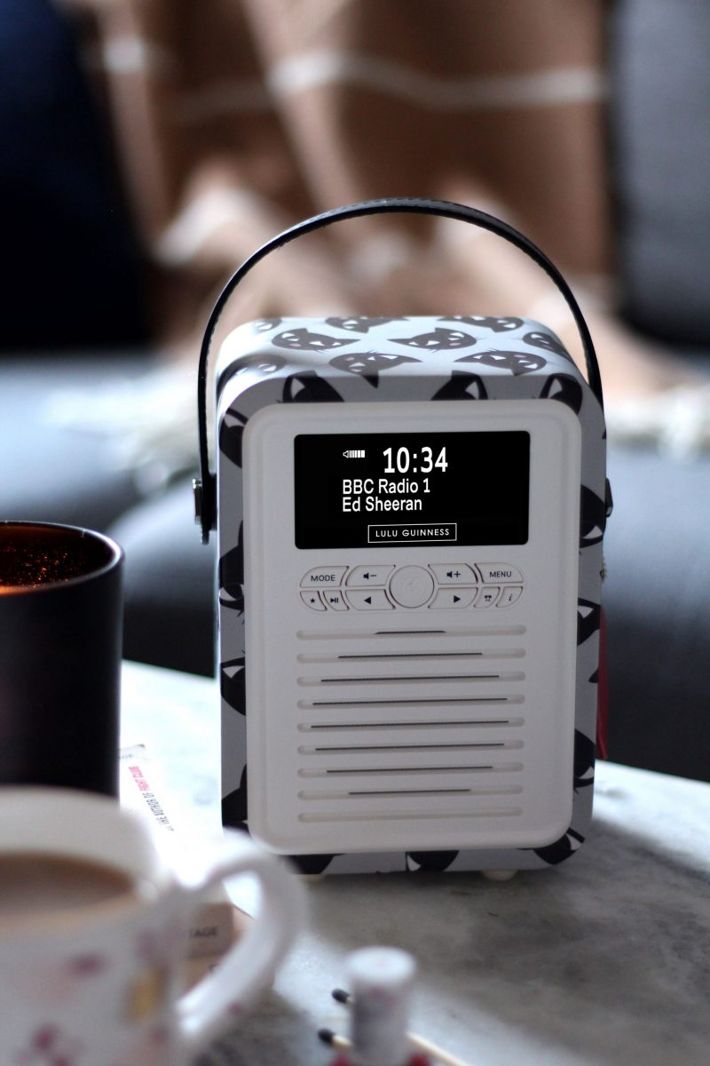 VQ x Lulu Guinness Retro Mini Radio + Giveaway!