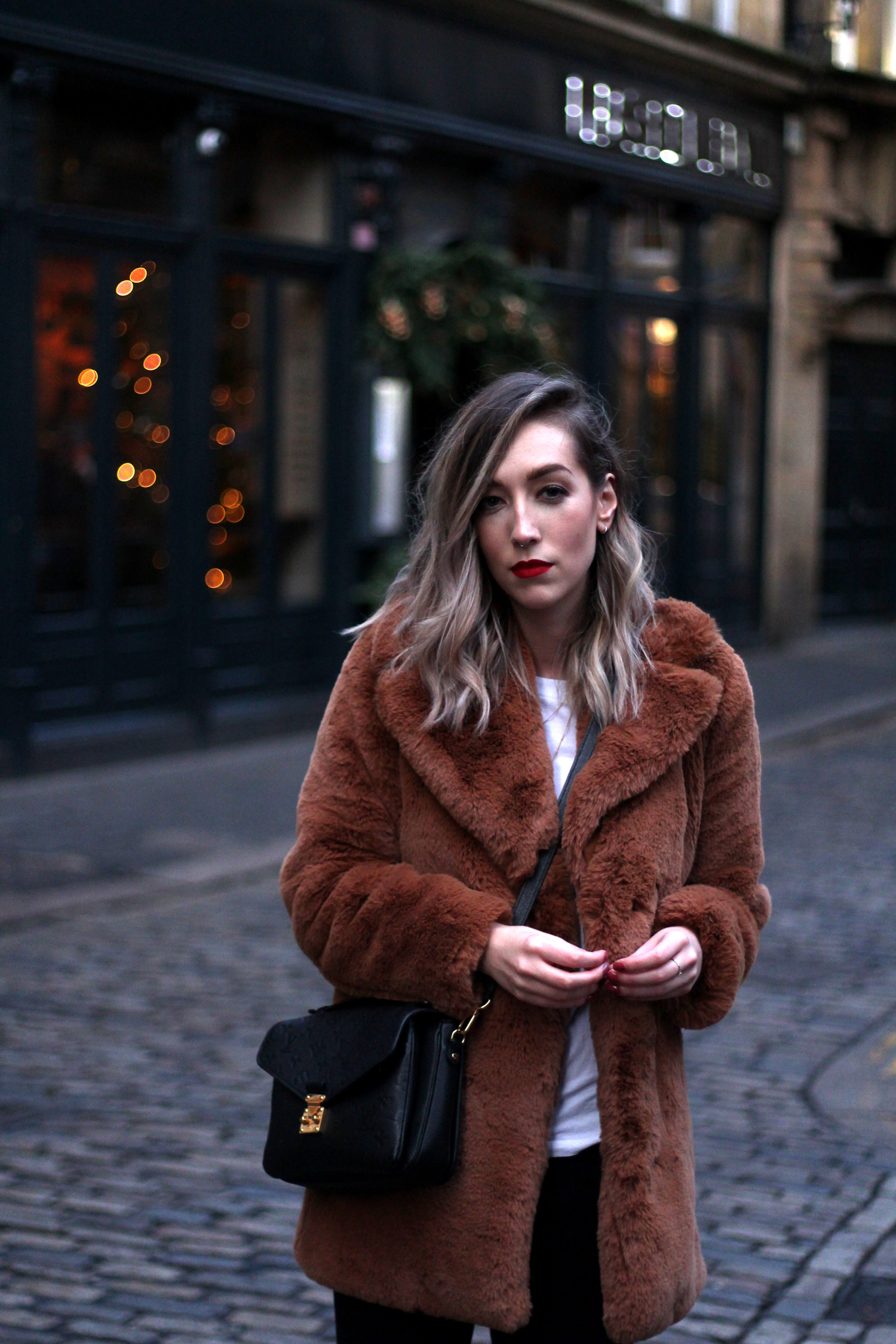 zara-toffee-faux-fur-textured-collar-coat-vintage-brown-fur-coat.-12