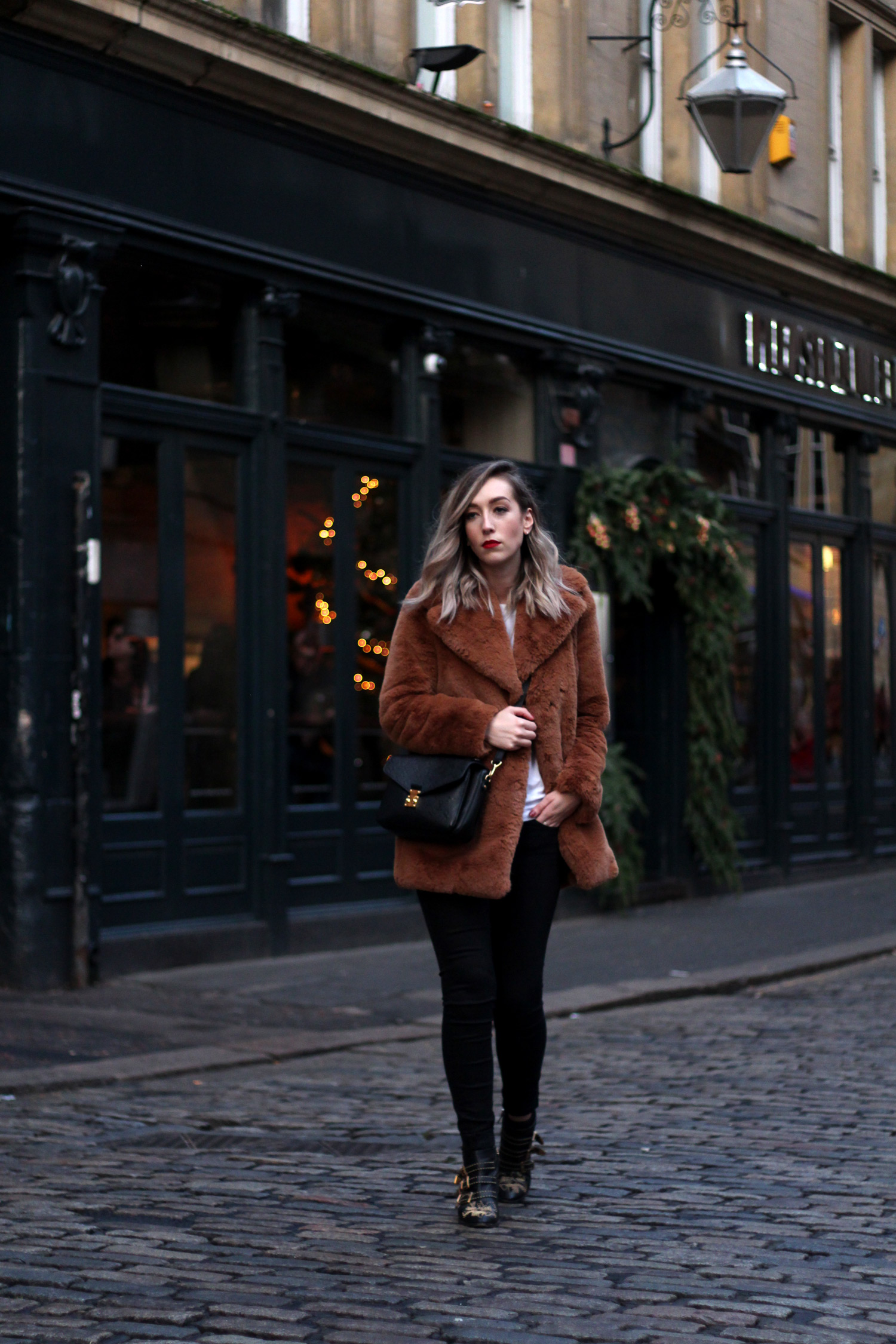 zara-toffee-faux-fur-textured-collar-coat-vintage-brown-fur-coat.-2