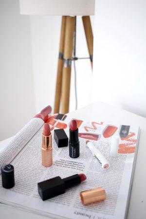 Four Peachy-Rose Lipsticks to Try