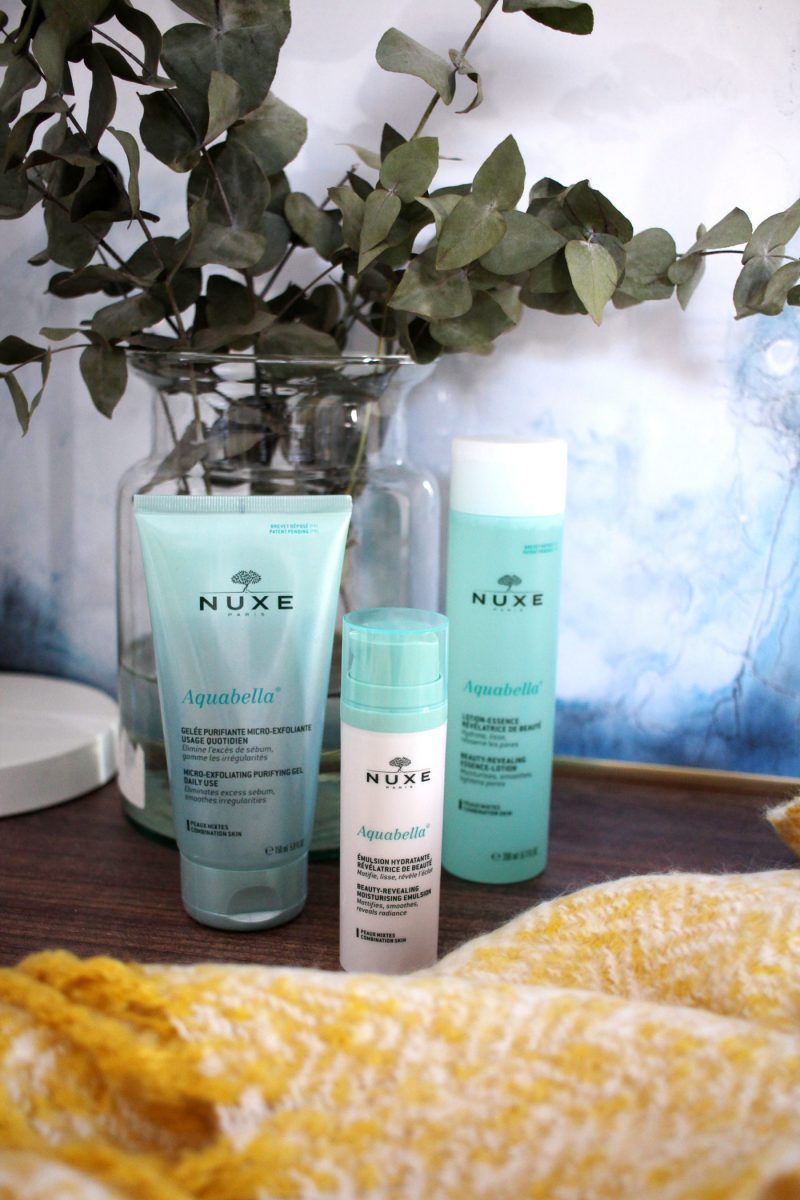 The Nuxe Aquabella Range