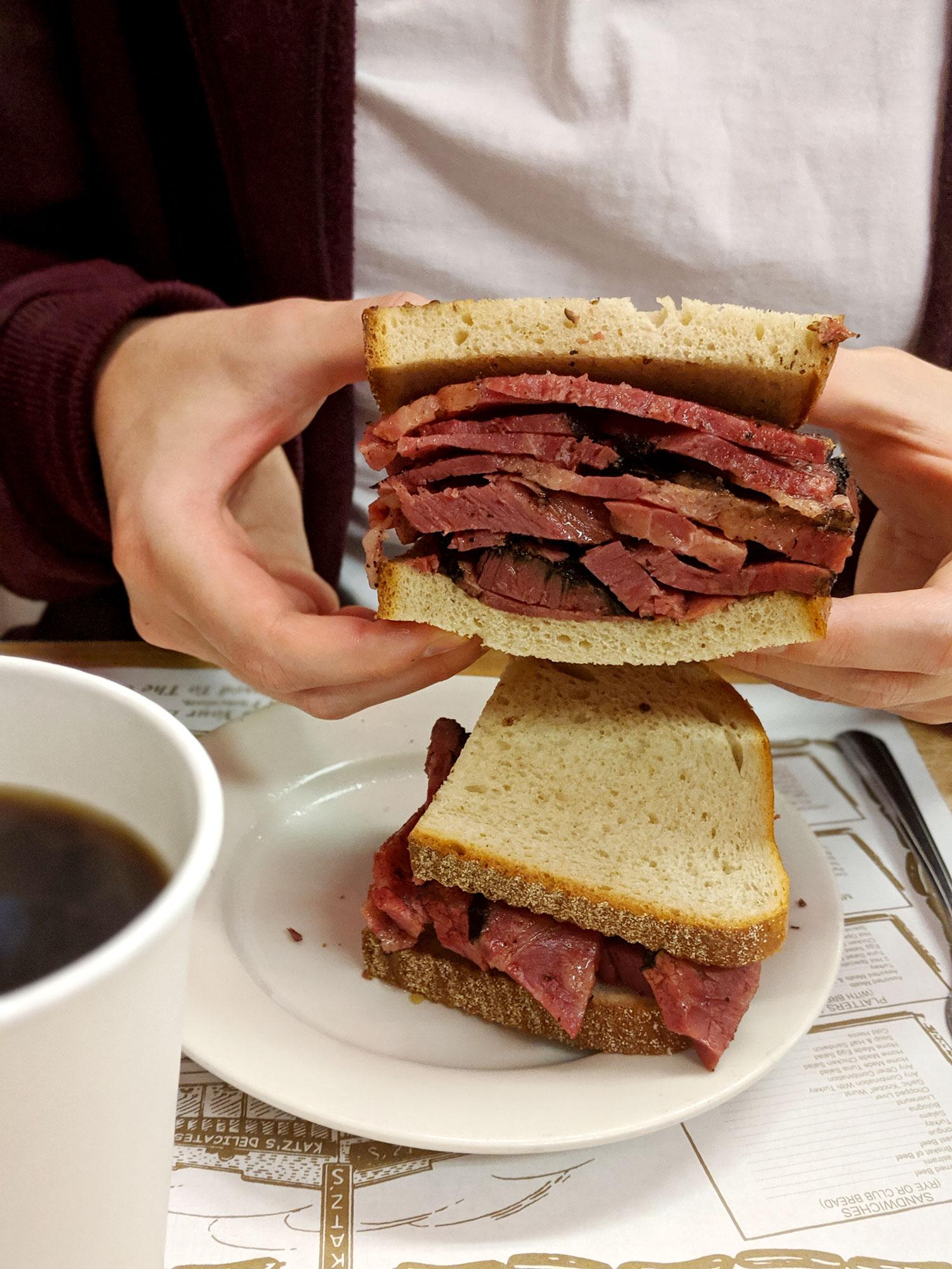 what-i-ate-in-new-york-restaurant-guide-manhattan-13-katz-deli