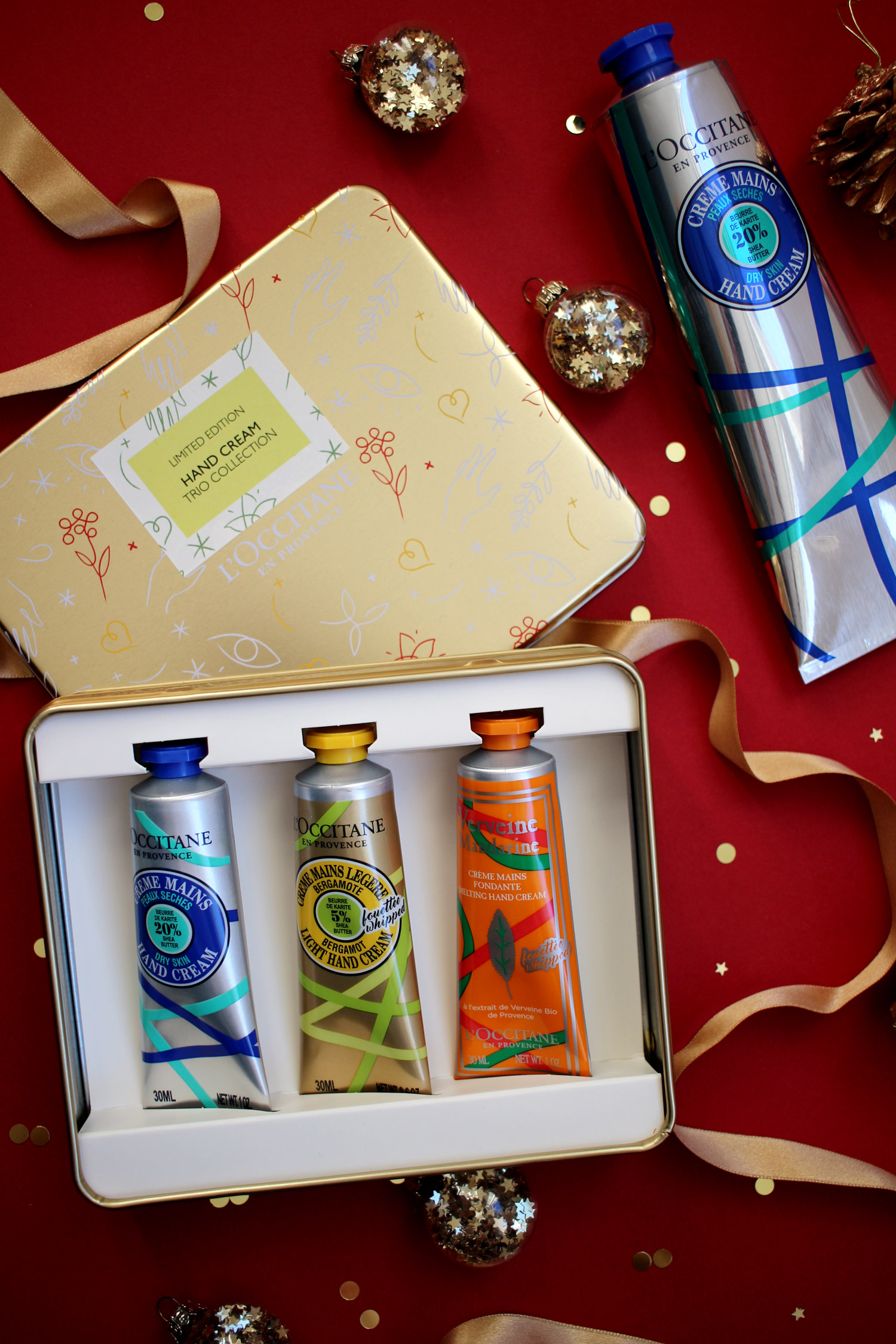 christmas-2020-haircare-bodycare-gift-guide-loccitane-hand-cream-set